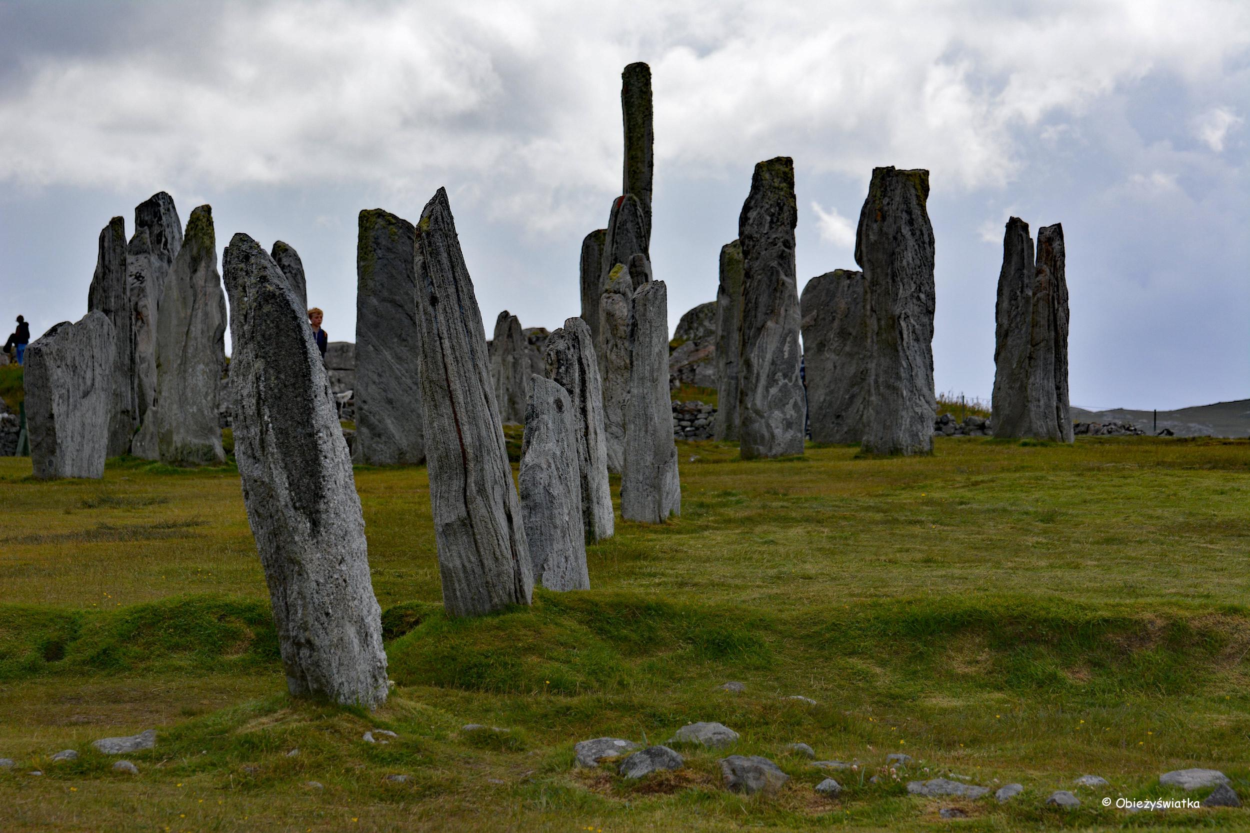 Megality w Callanish/Calanais, Szkocja, Lewis and Harris