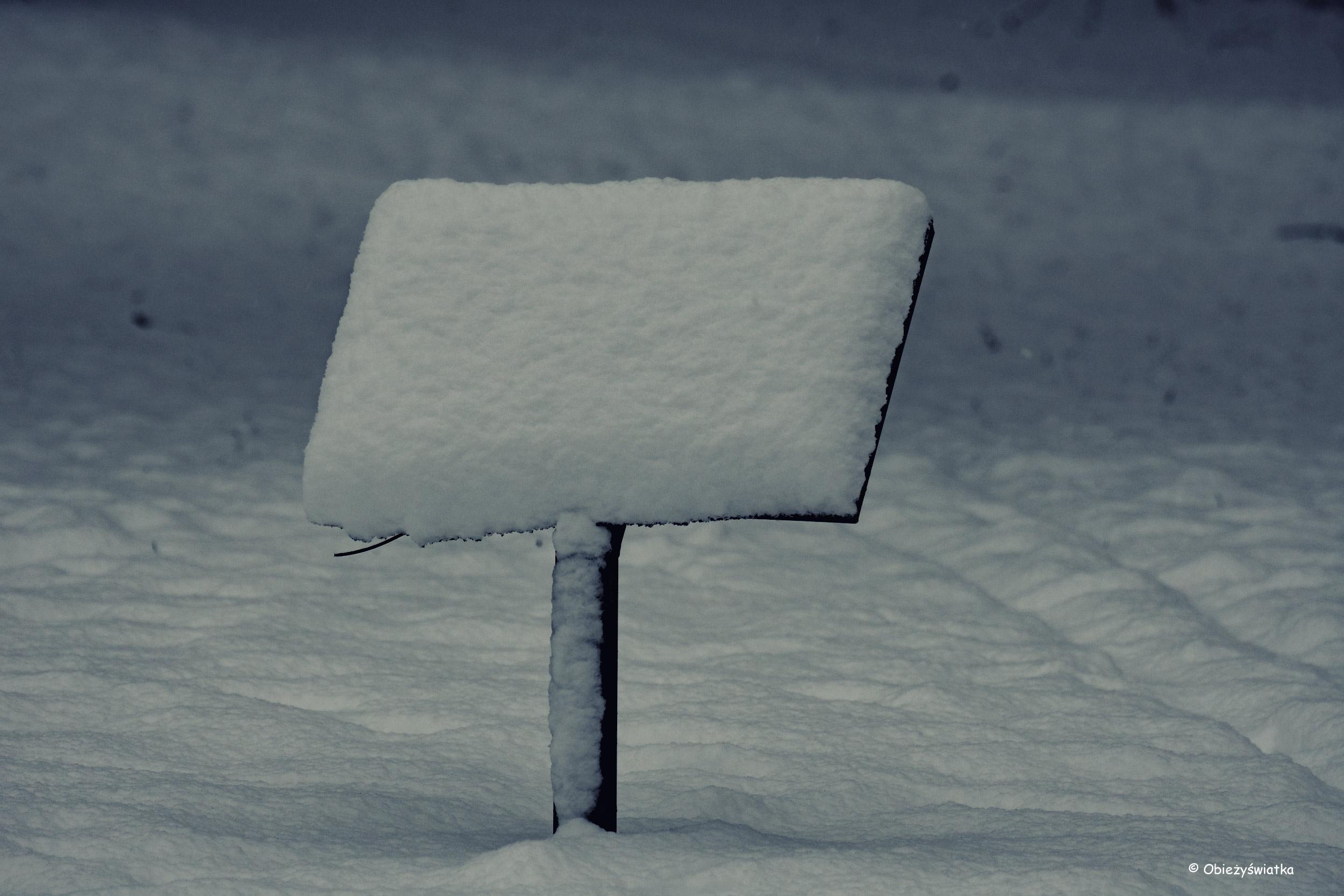 Miękka śnieżna pierzynka