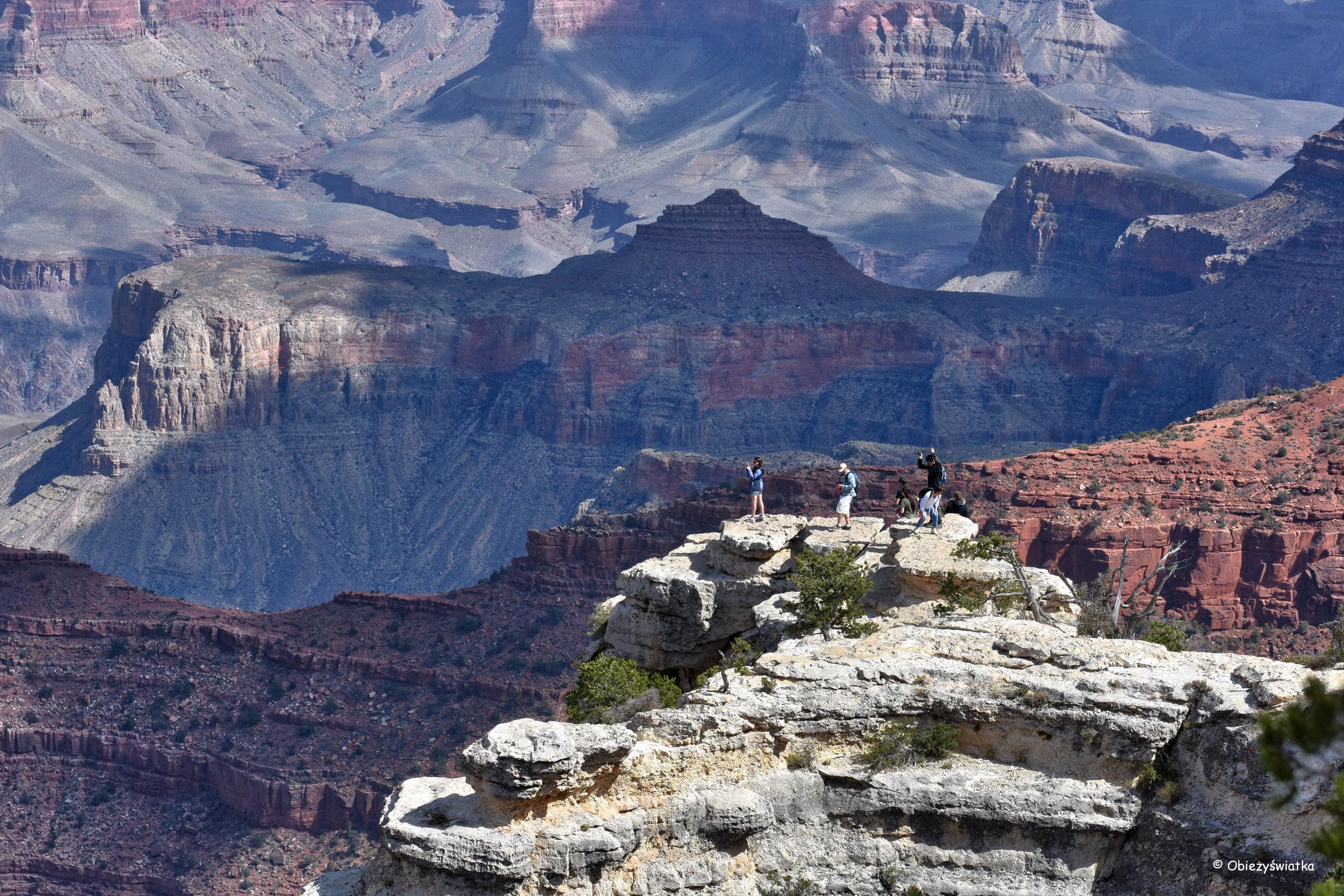 Niezapomniane widoki - Grand Canyon National Park, Arizona, USA