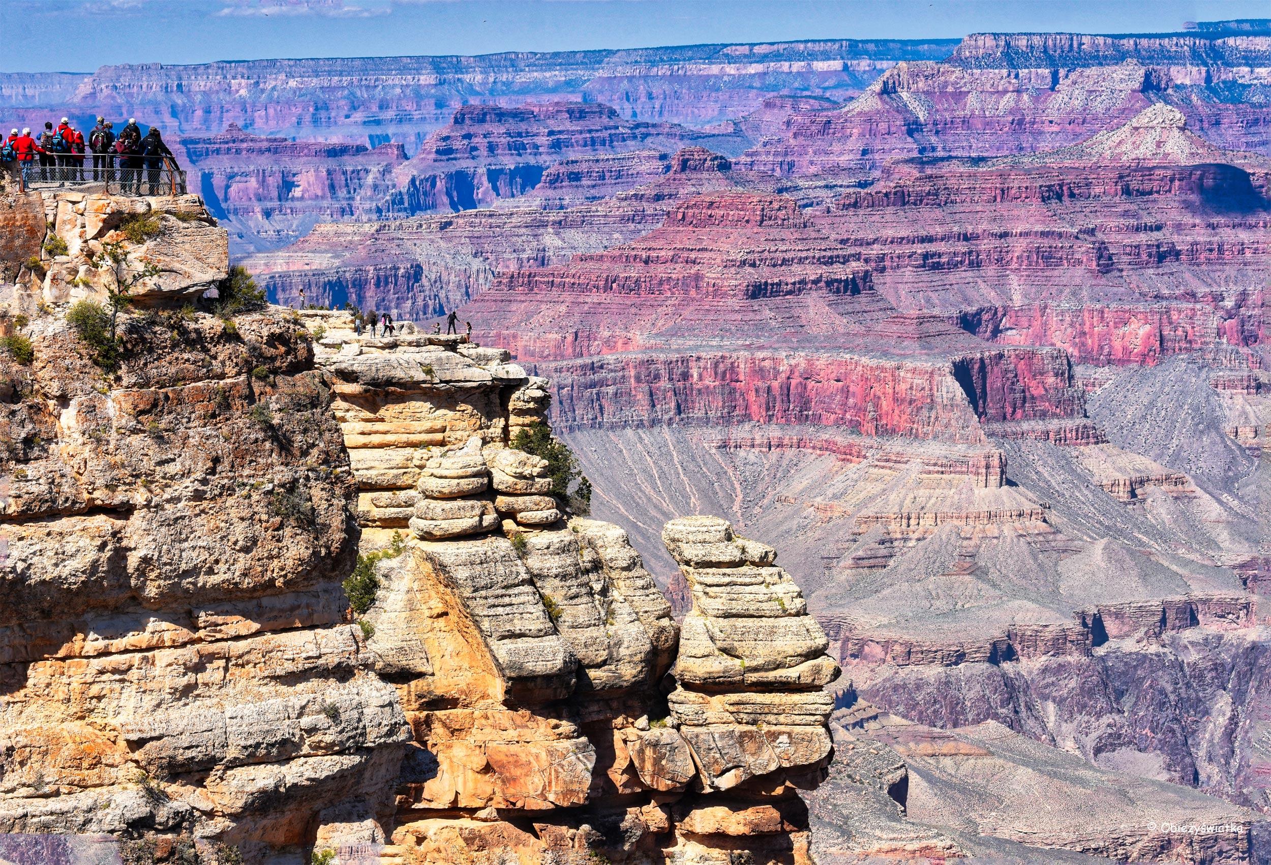 Fotogeniczne skały - Grand Canyon National Park, Arizona, USA