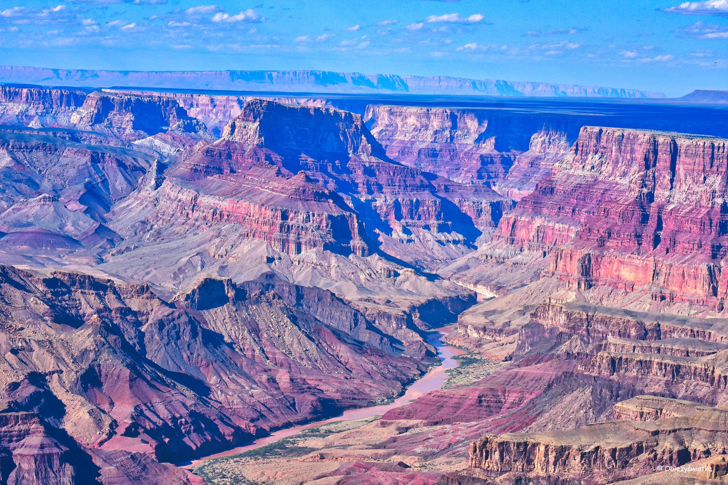 Kolory i rozmiar robią wrażenie - Grand Canyon National Park, Arizona, USA