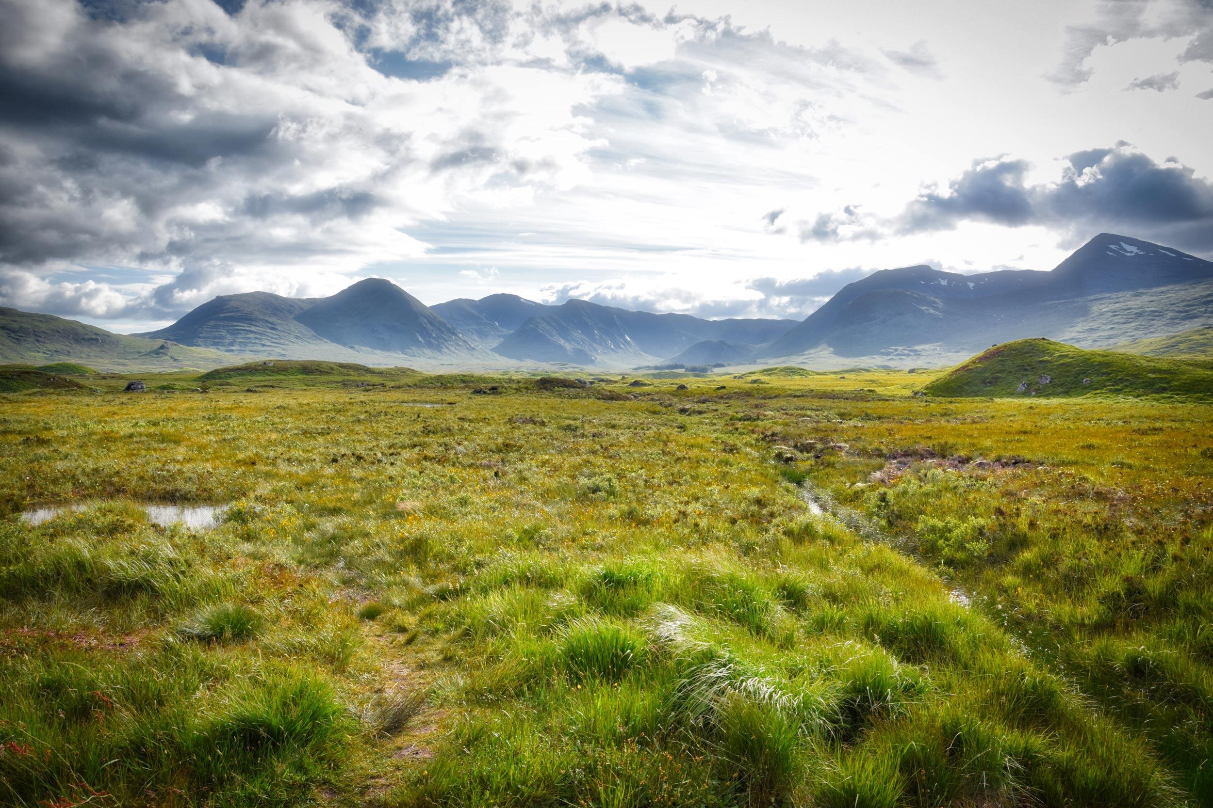 Rannoch Moor - i jak nie zakochać się w takim krajobrazie?!