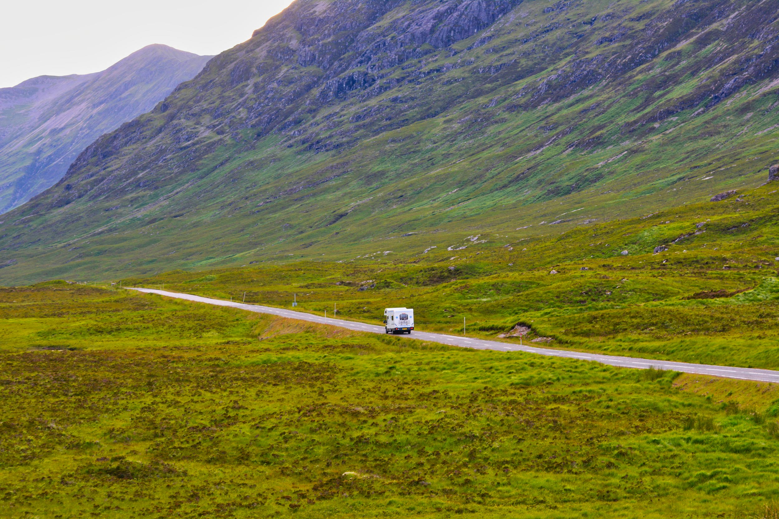 Kamperem przez Szkocję