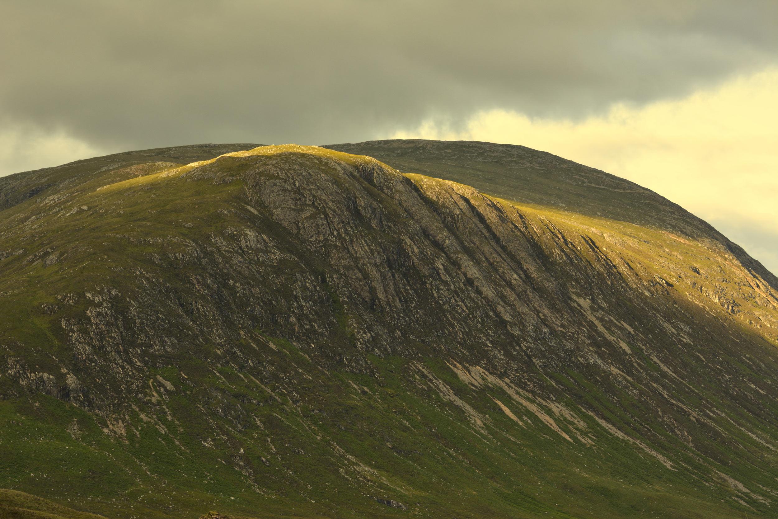 Ciemne chmury wiatr przegonił... - Rannoch Moor, Szkocja, UK