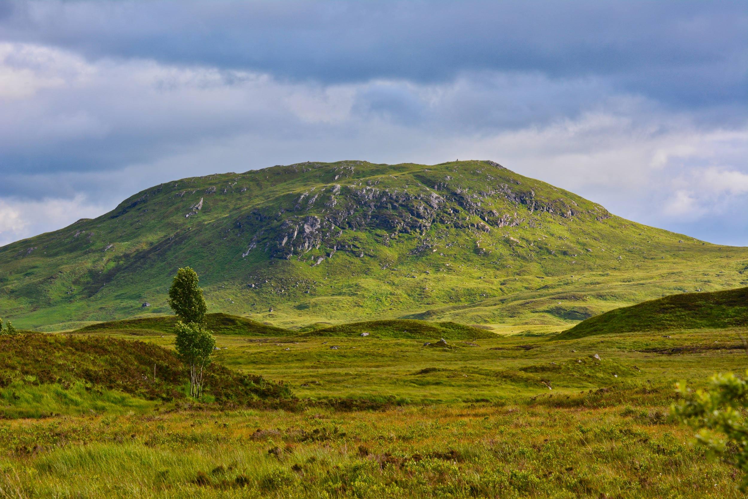 Szkocki krajobraz - Rannoch Moor