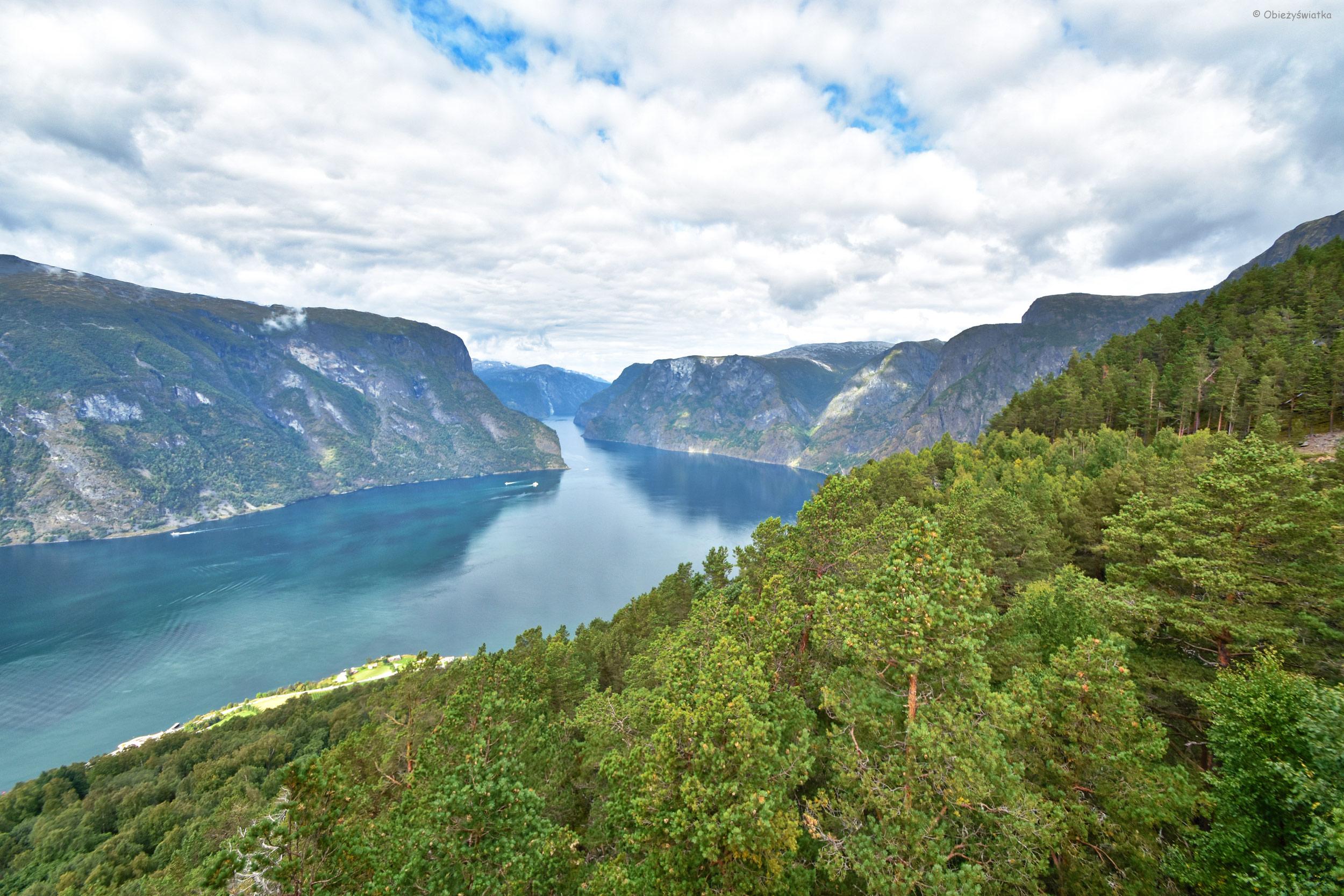 Aurlandsfjord, Norwegia