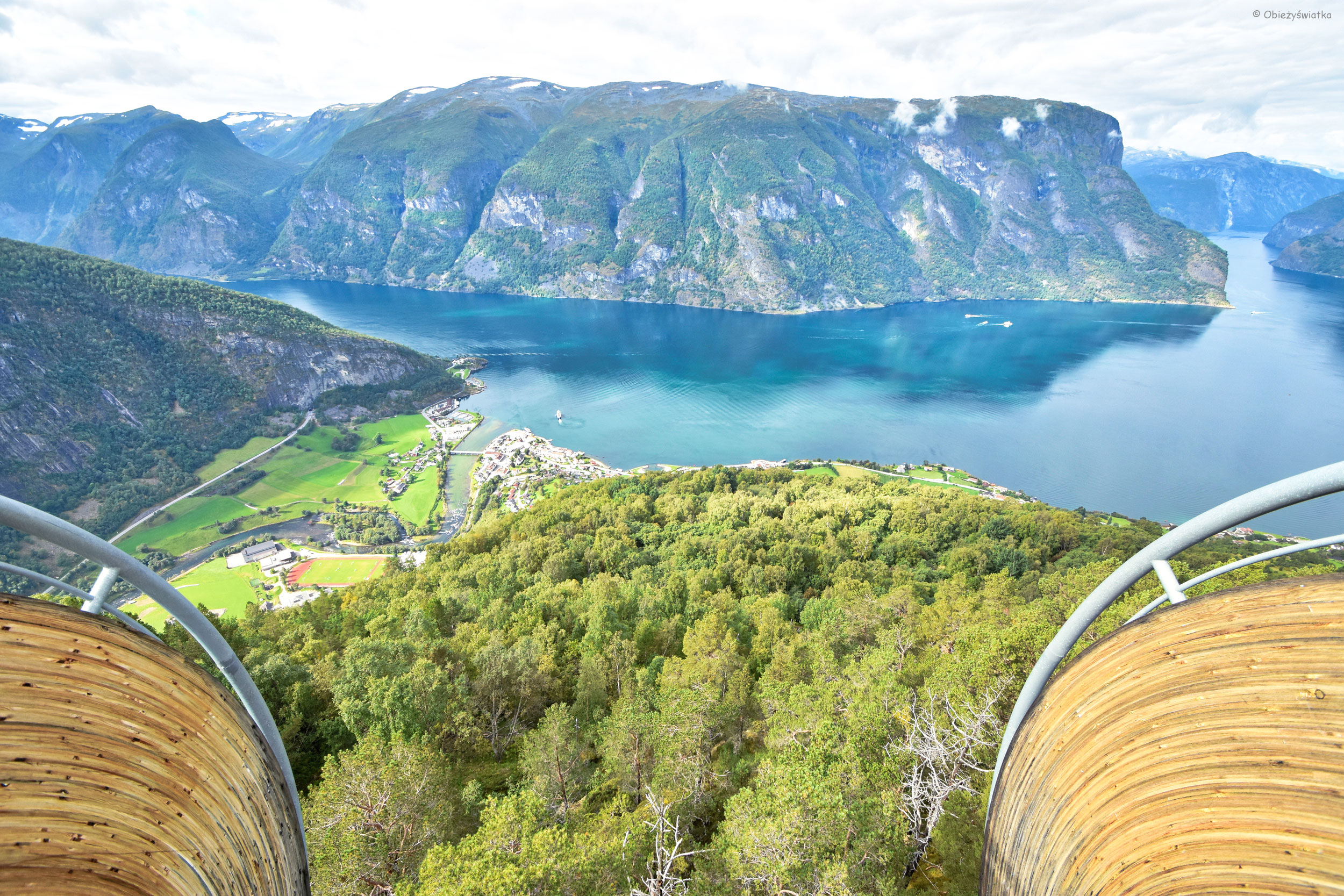 Stegastein i Aurlandsfjord, Norwegia