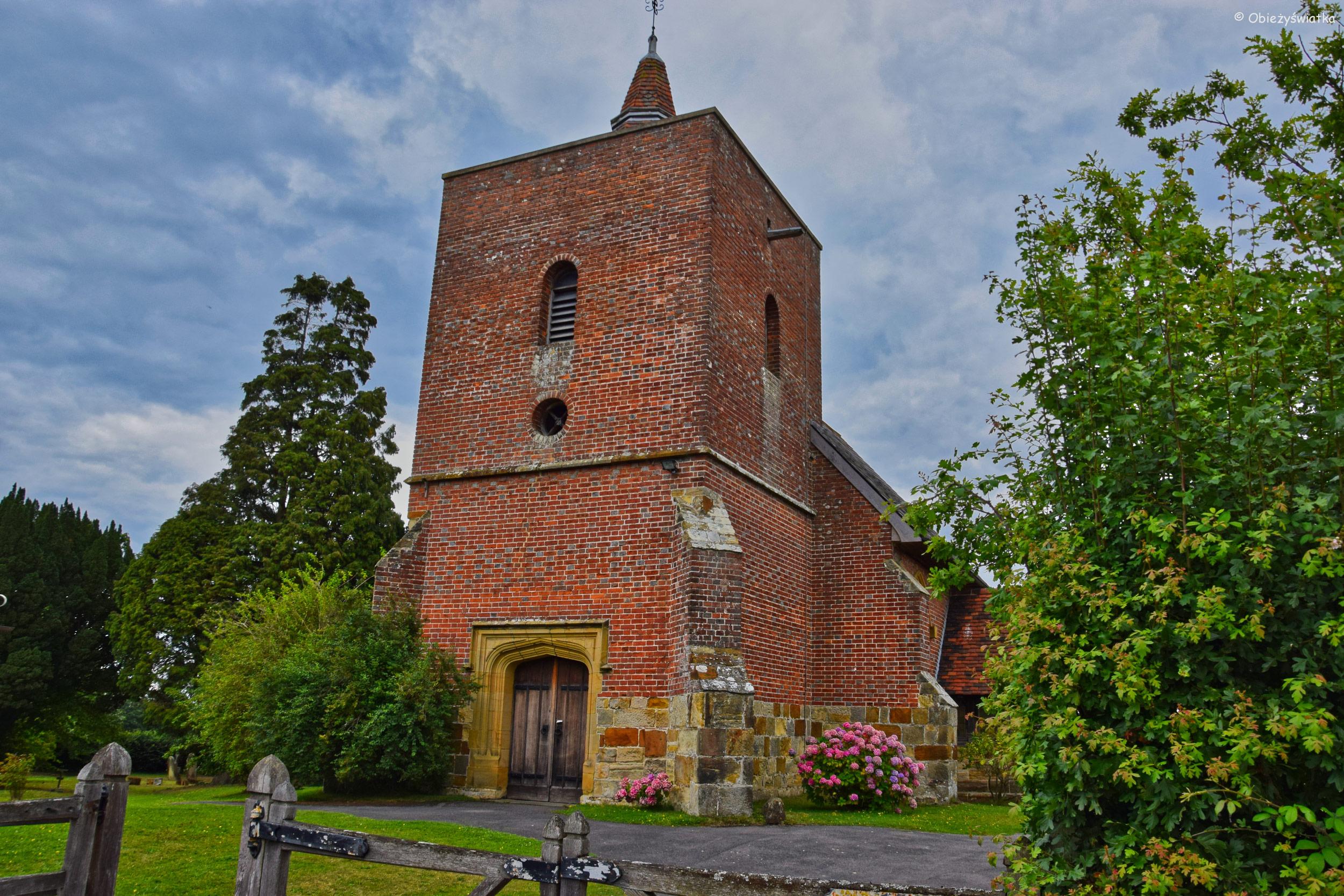 Kościółek w Tudeley, Wielka Brytania