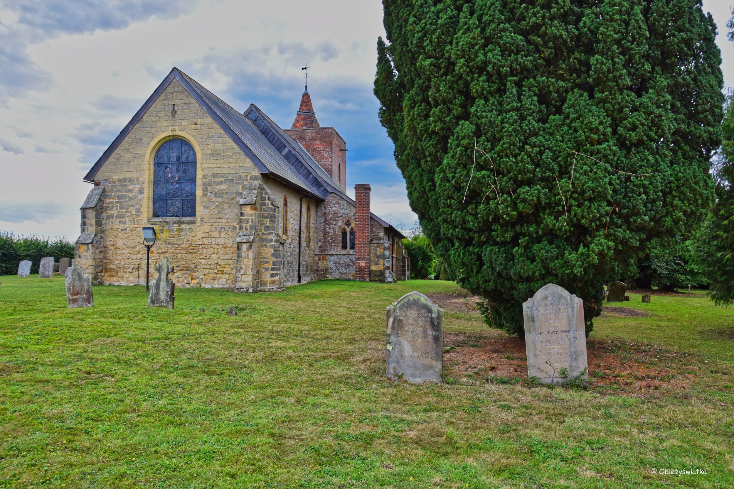Wokół kościółka w Tudeley, Wielka Brytania