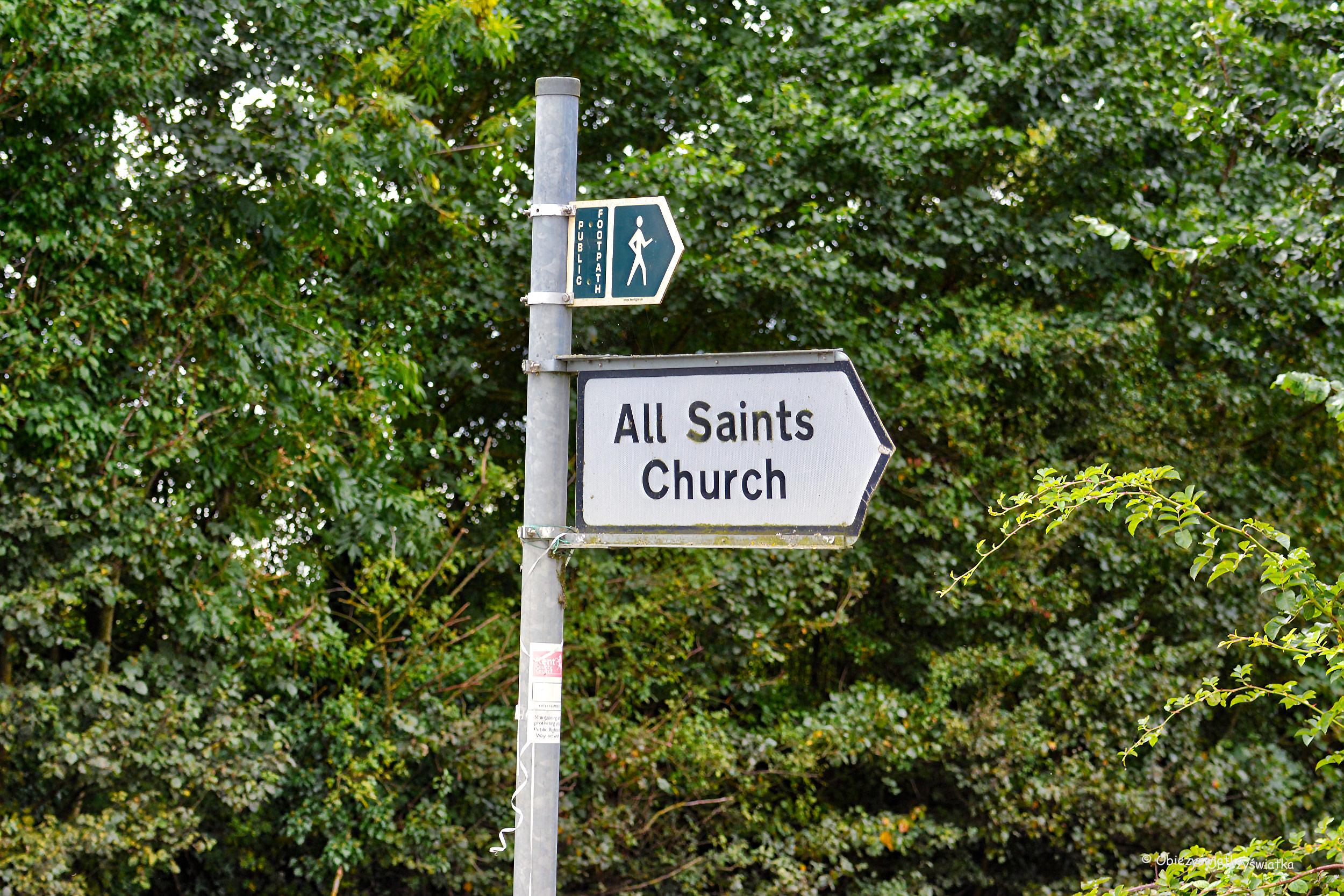 All Saints Church, Tudeley, UK