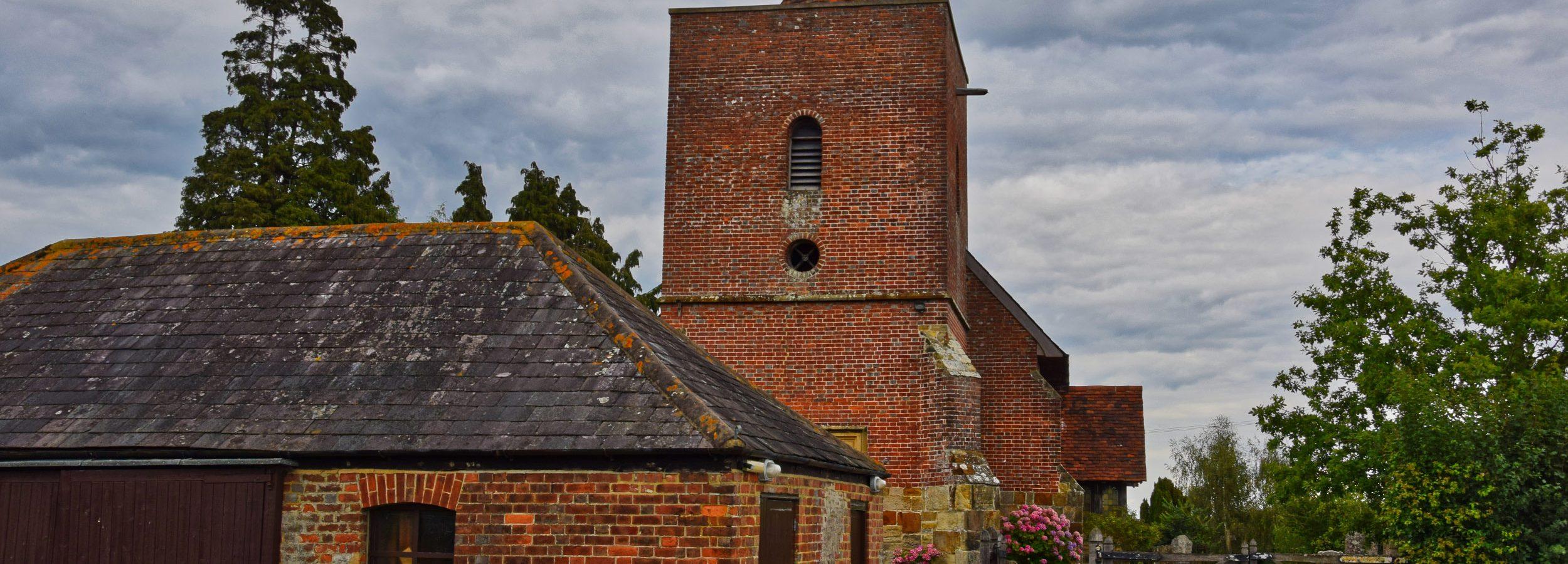 Kościółek w Tudeley, UK