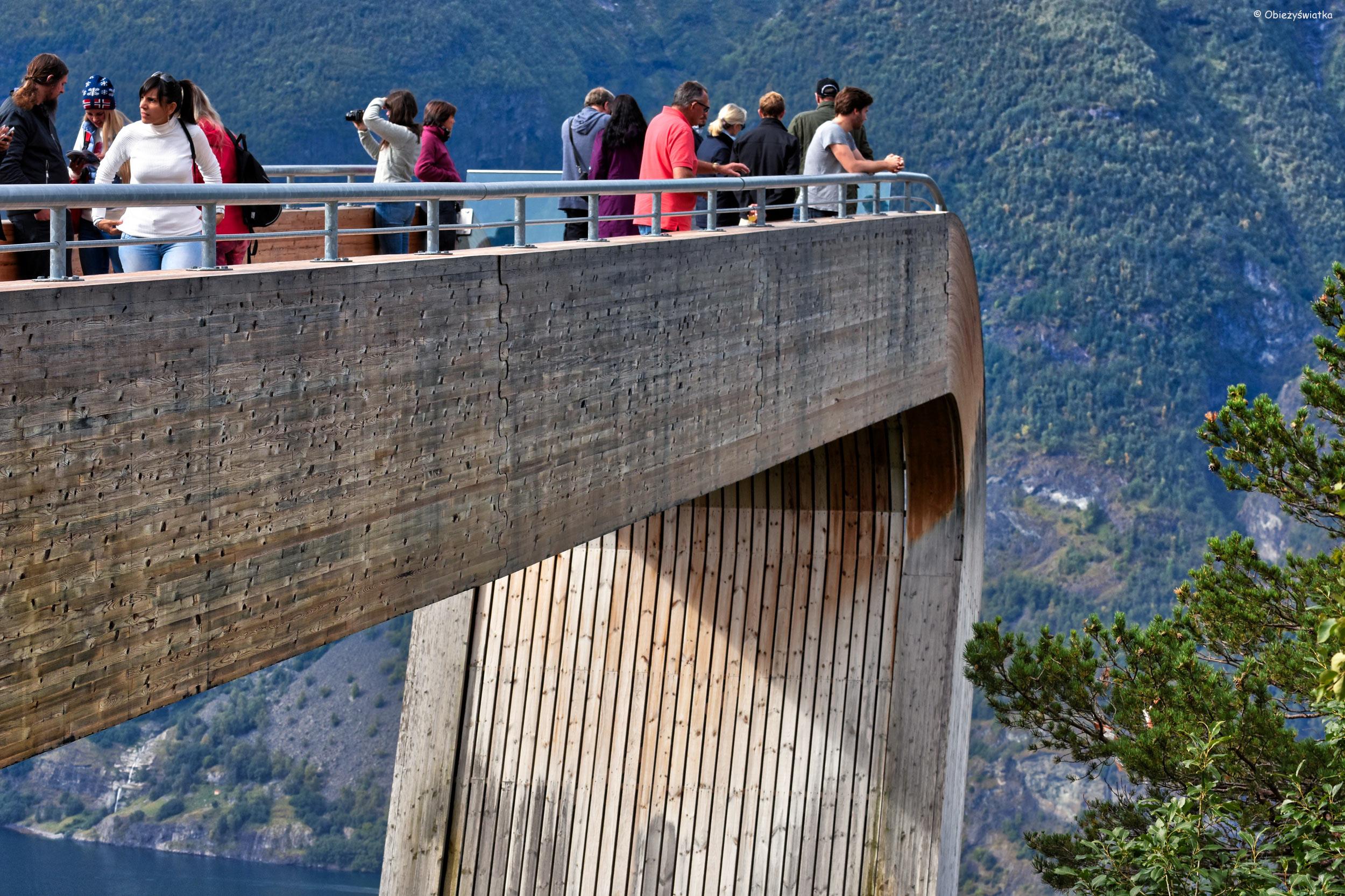 Stegastein - platforma widokowa, Norwegia