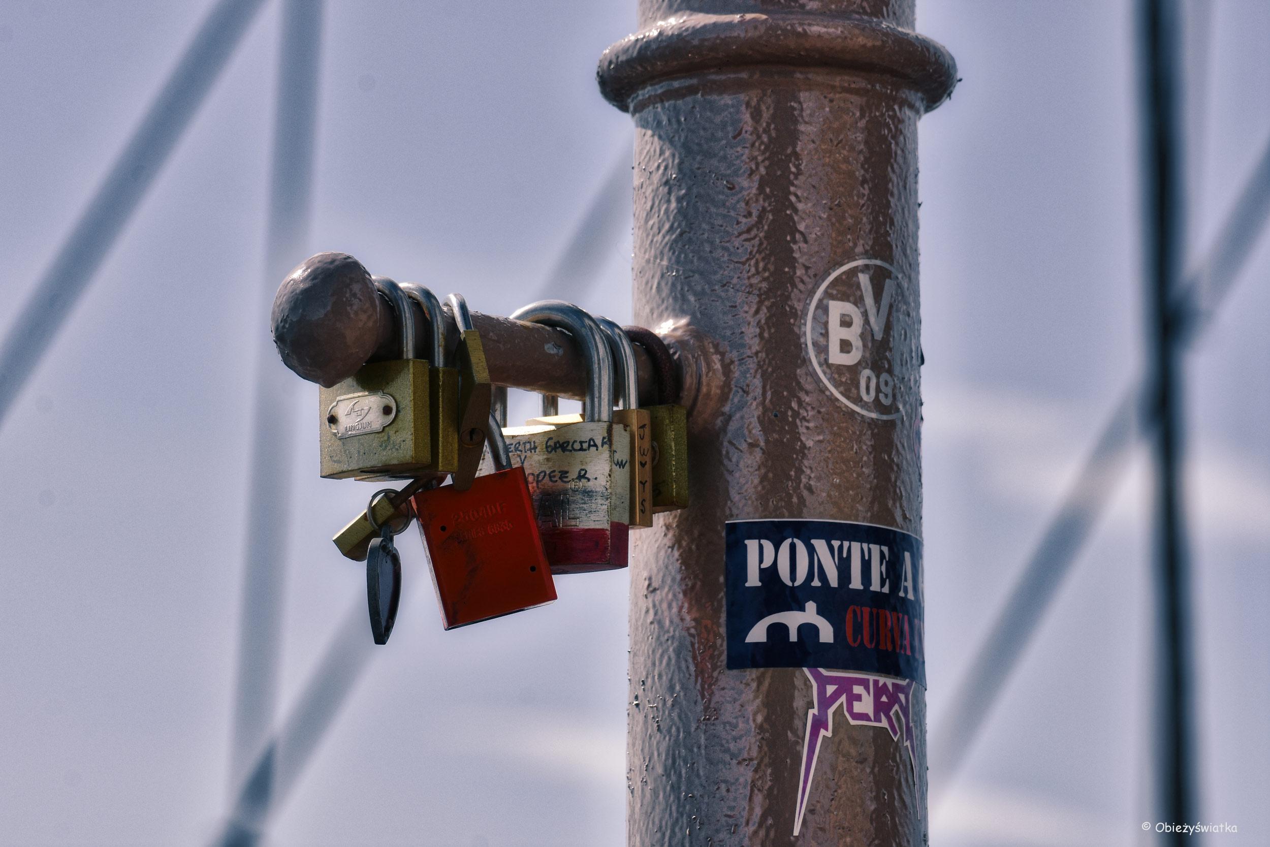Bez kłódek się nie obejdzie ;) - Most Brooklińskie, Nowy Jork