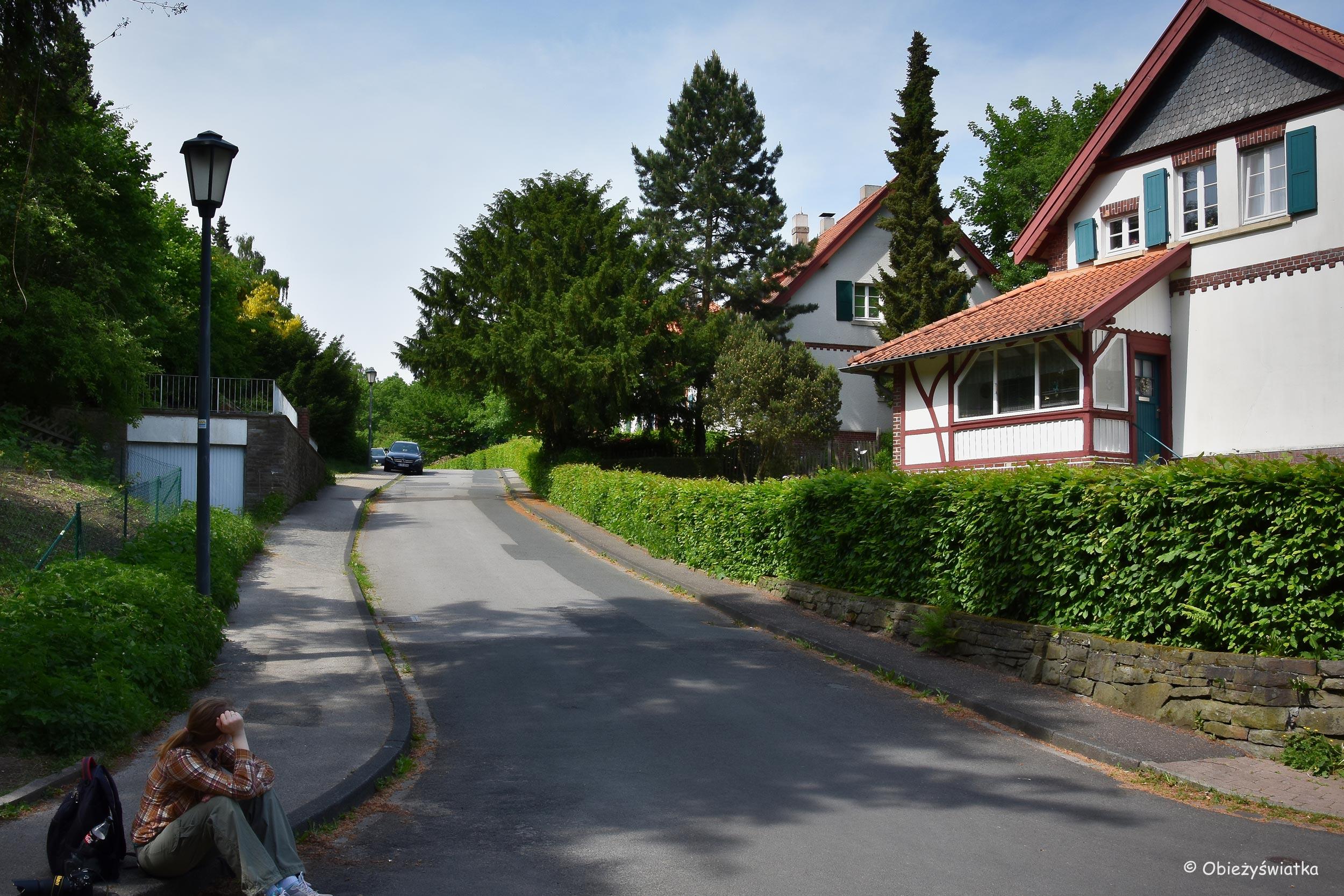 Króciutki odpoczynek, osiedle Brandenbusch, Essen