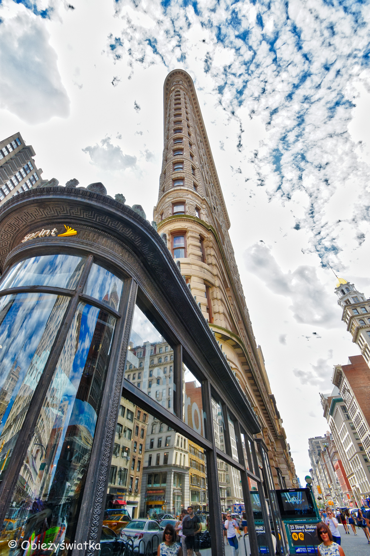 Zgrabny i opływowy - Flatiron Building, New York