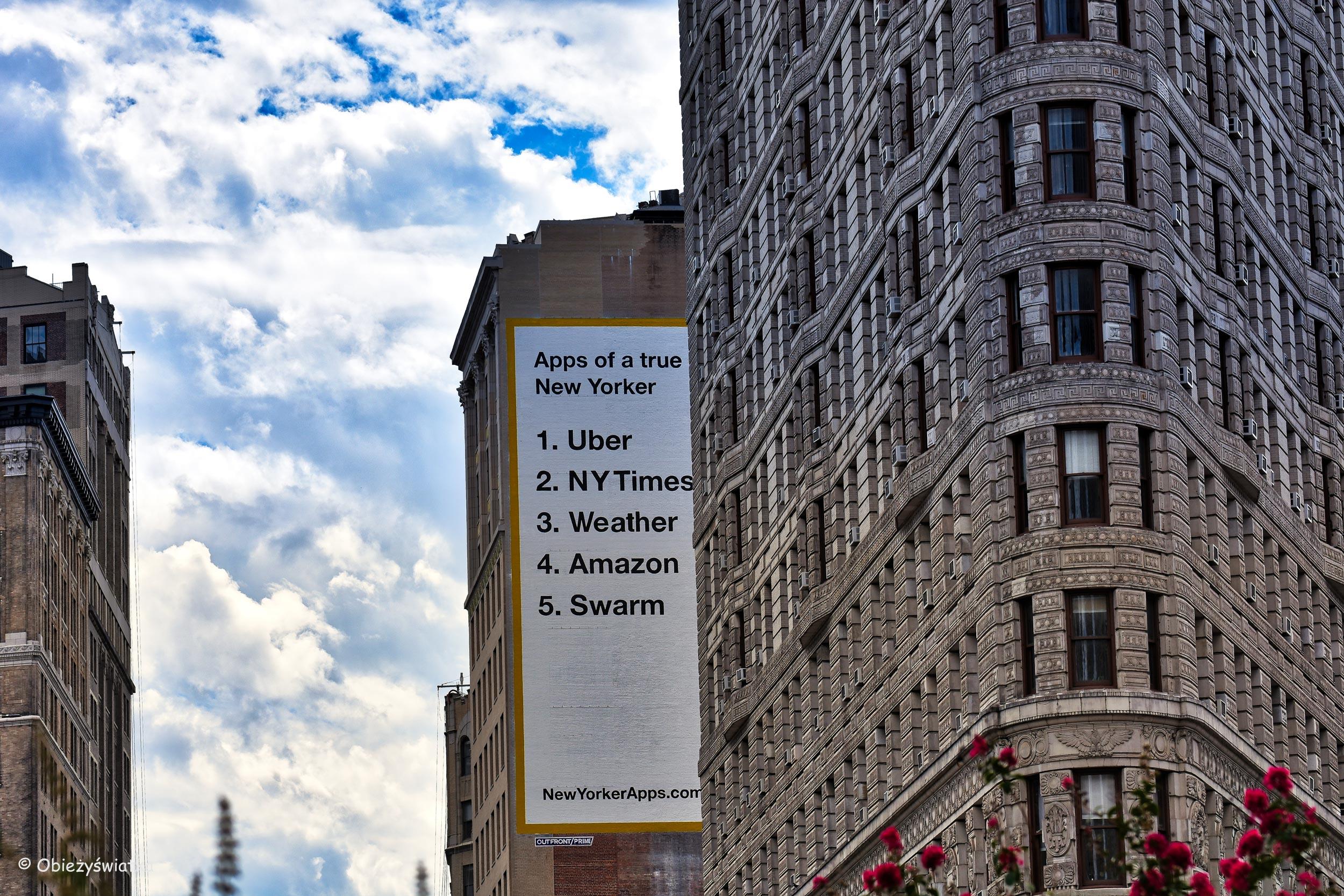 Flatiron Building i prawdziwy nowojorczyk ;)