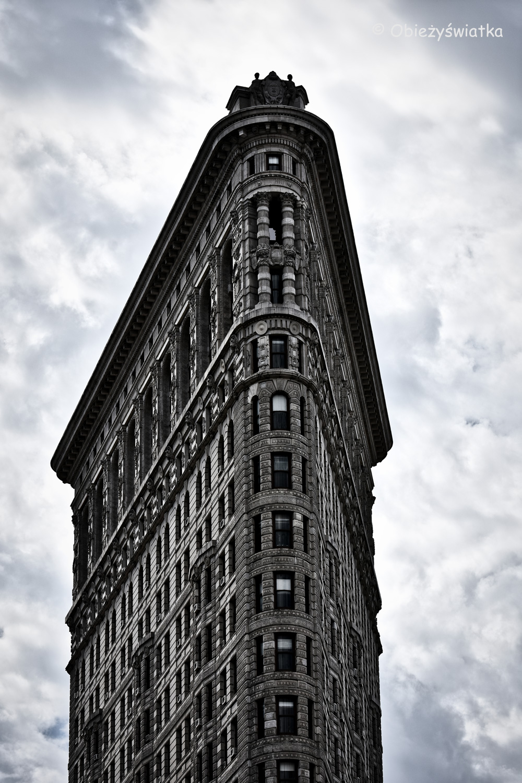 Fotogeniczny Flatiron Building, Nowy Jork