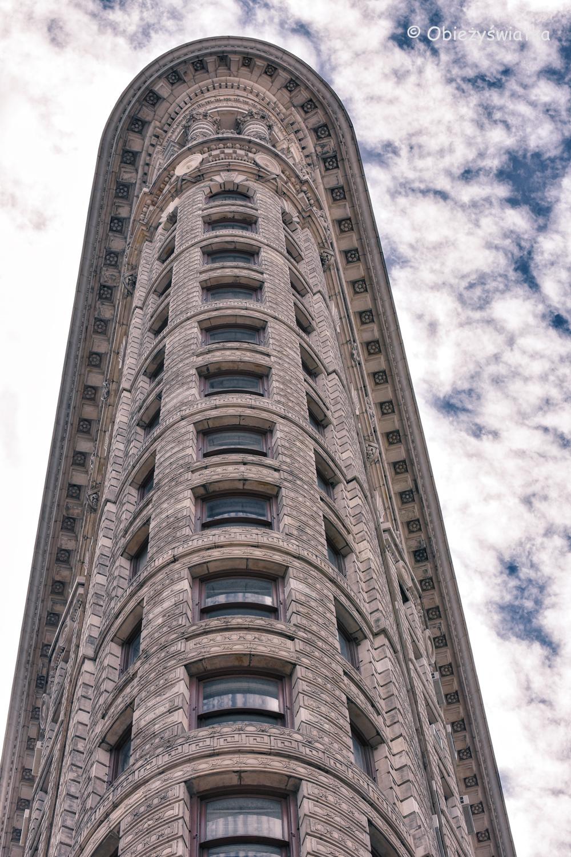 Flatiron Building z bliska, Nowy Jork