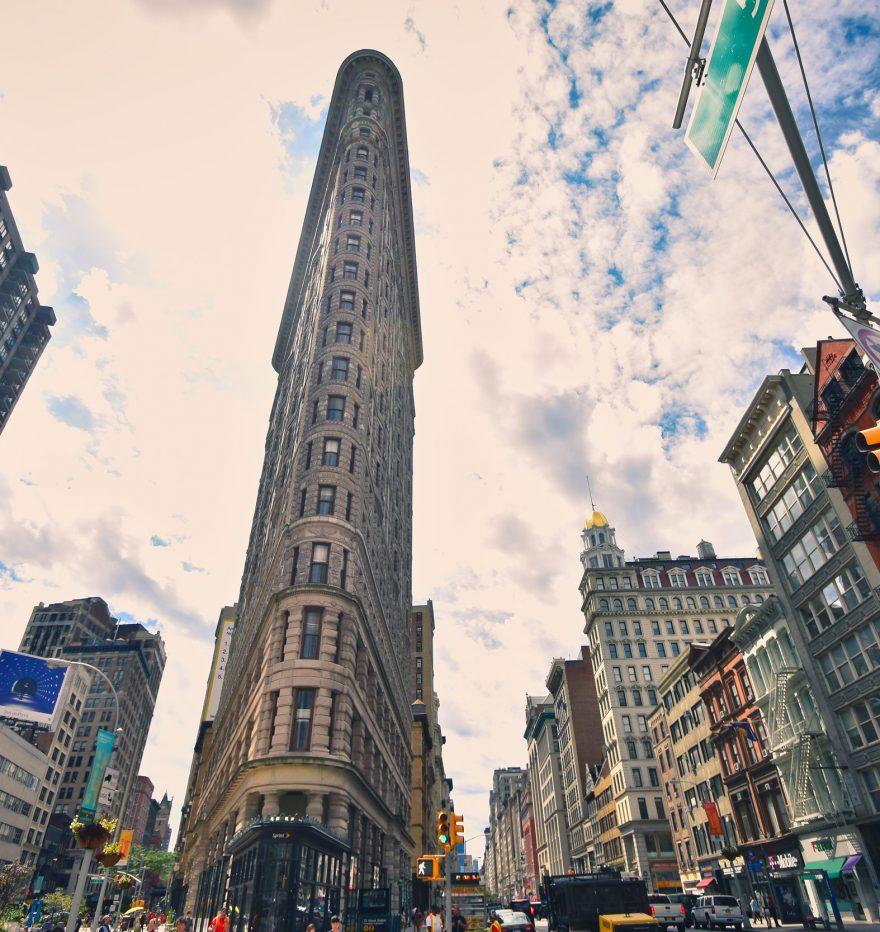 Flatiron Building w Nowym Jorku, USA