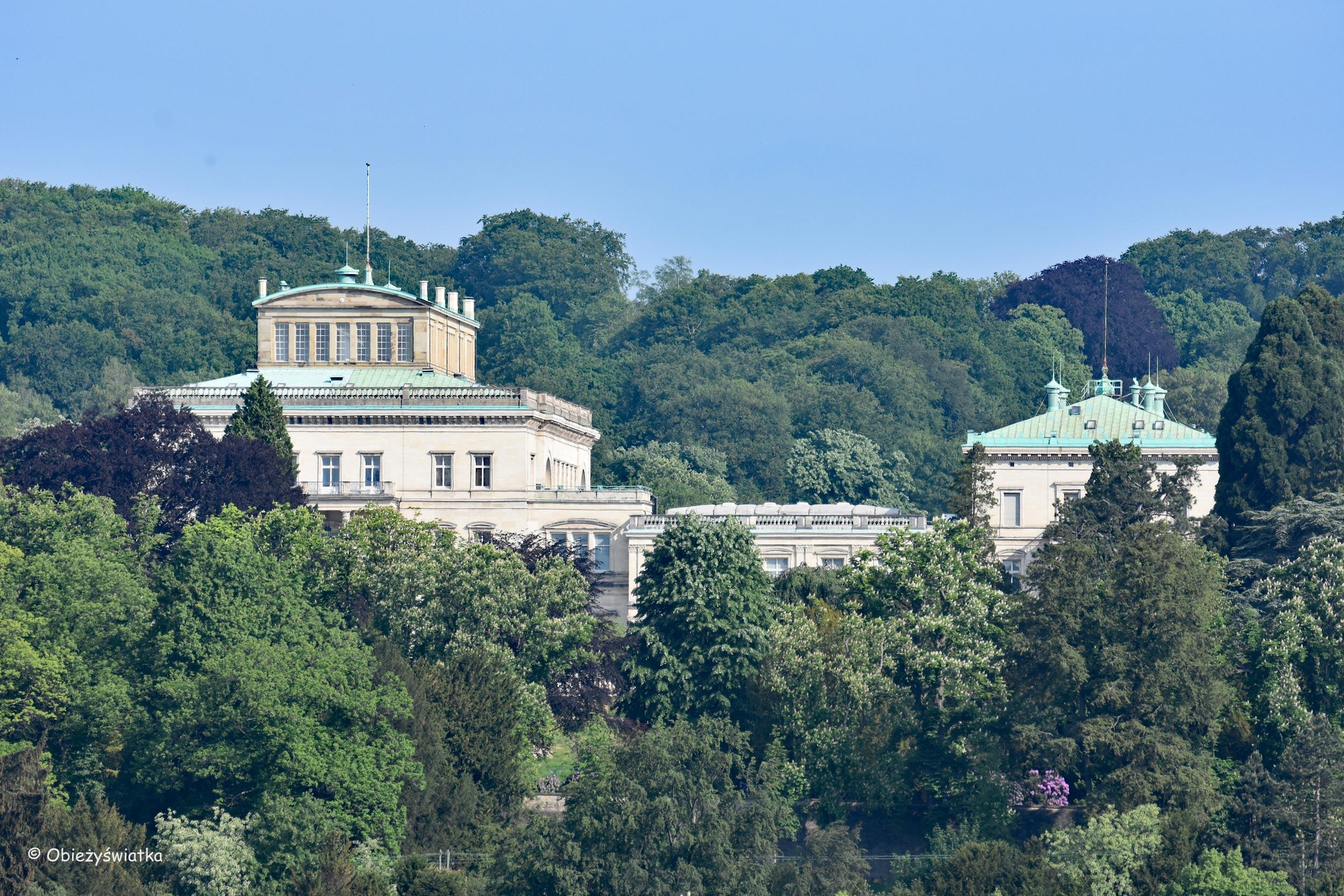 Villa Hügel - posiadłość rodziny Krupp