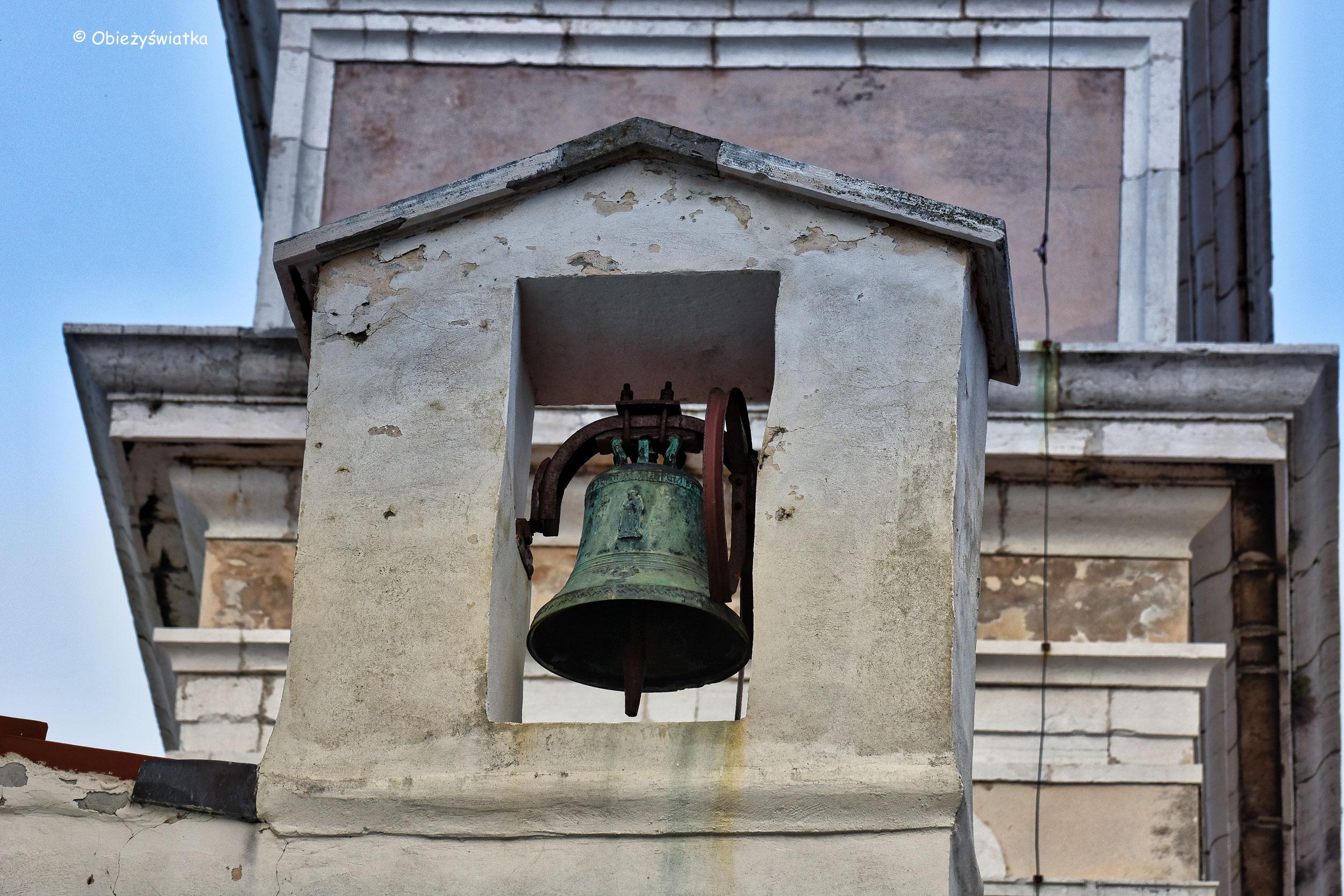 Dzwon - kościół św. Jerzego, Piran, Słowenia