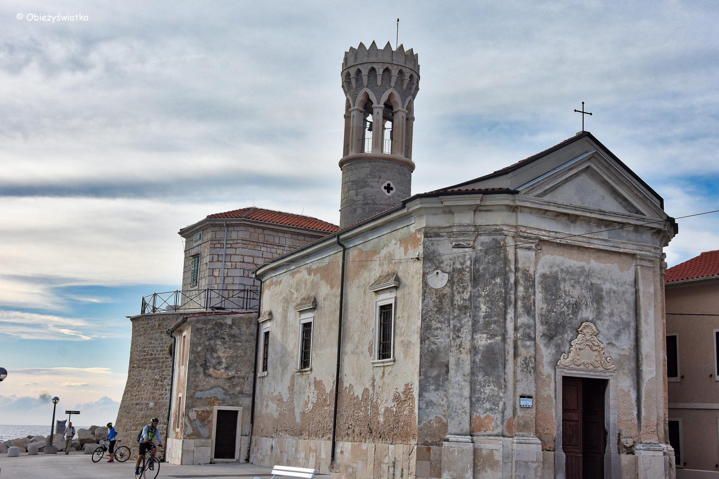 Kościółek Madonna della Salute w Piranie, Słowenia