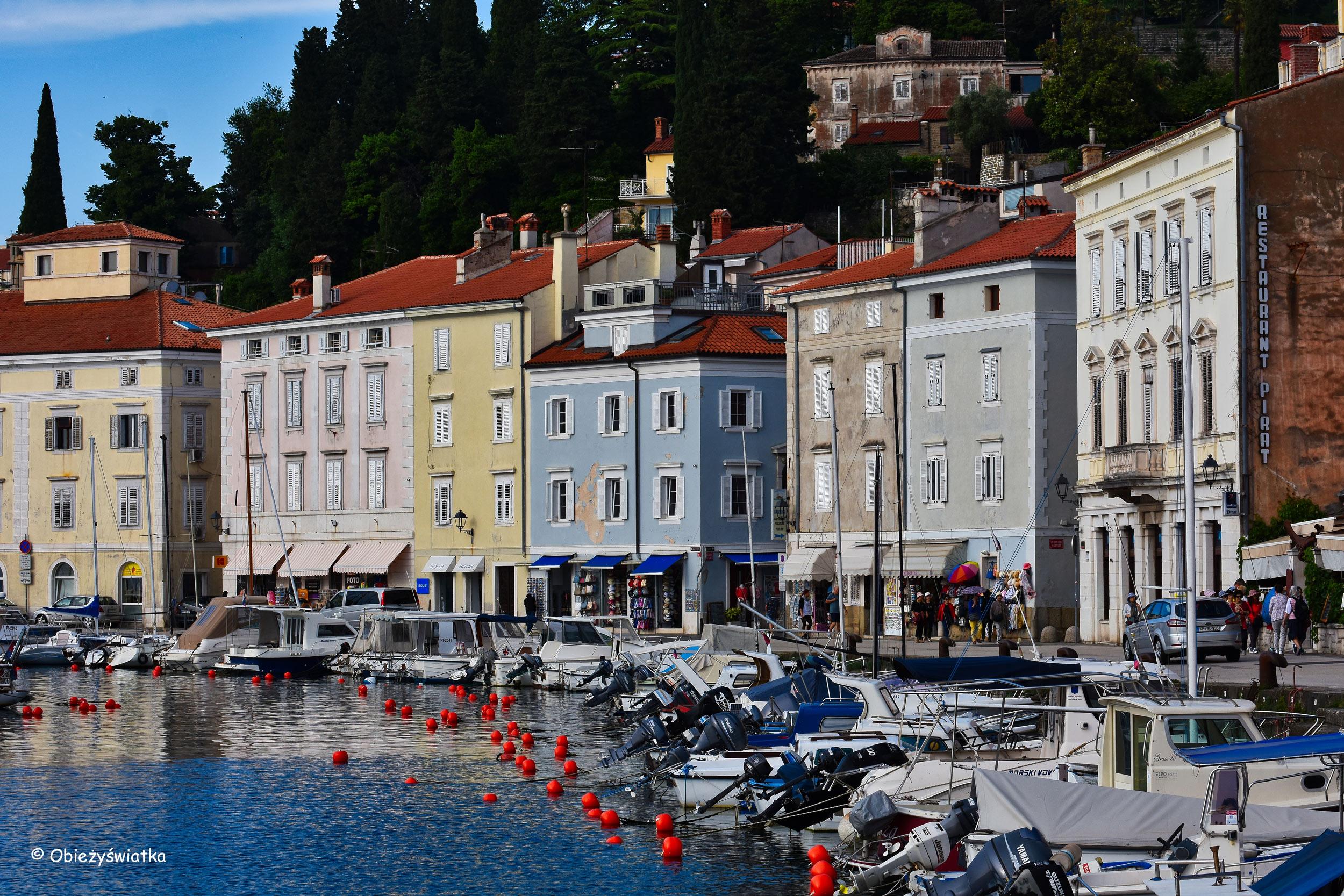 Marina w Piranie, Słowenia