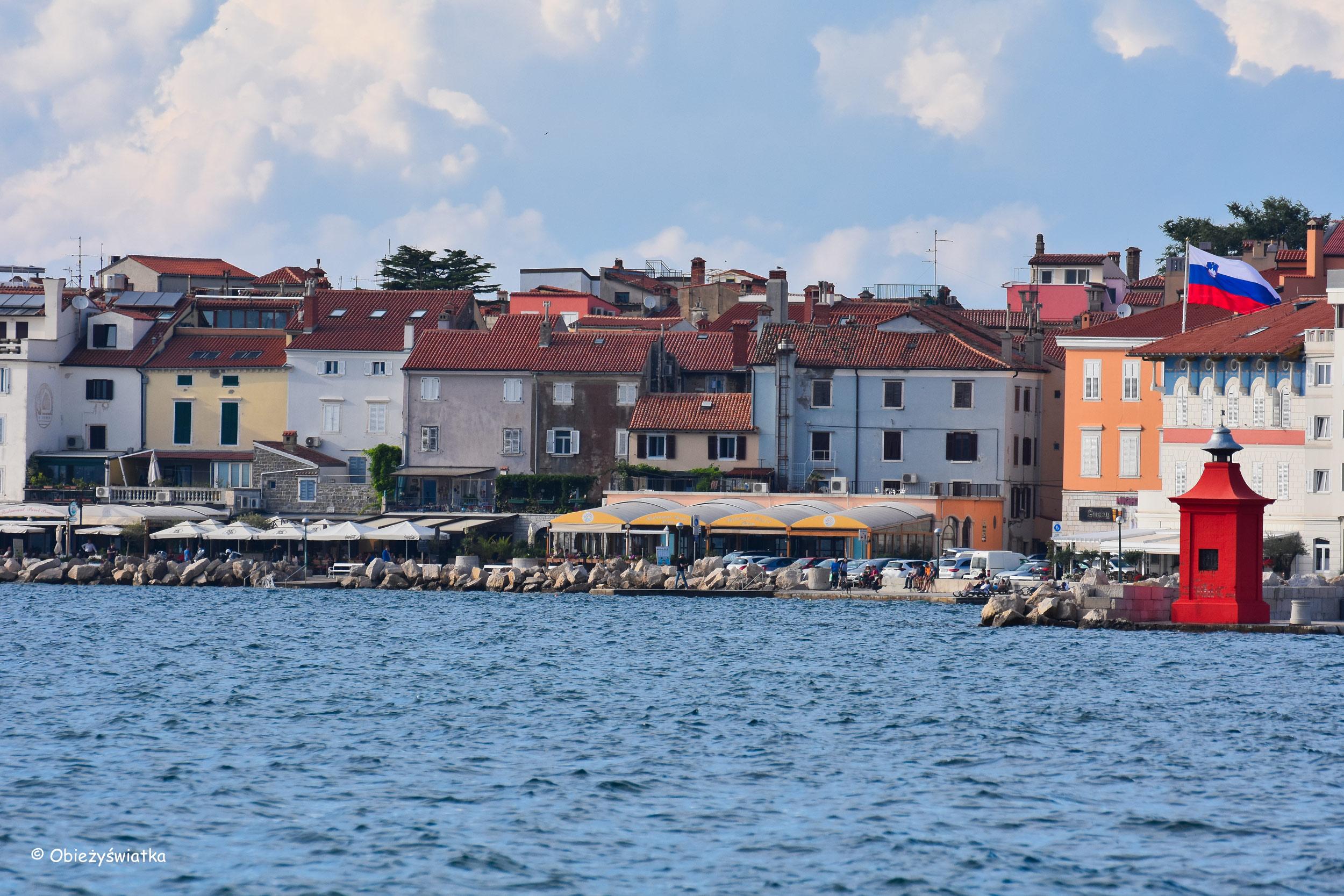 Nadmorskie miasteczko Piran, Słowenia