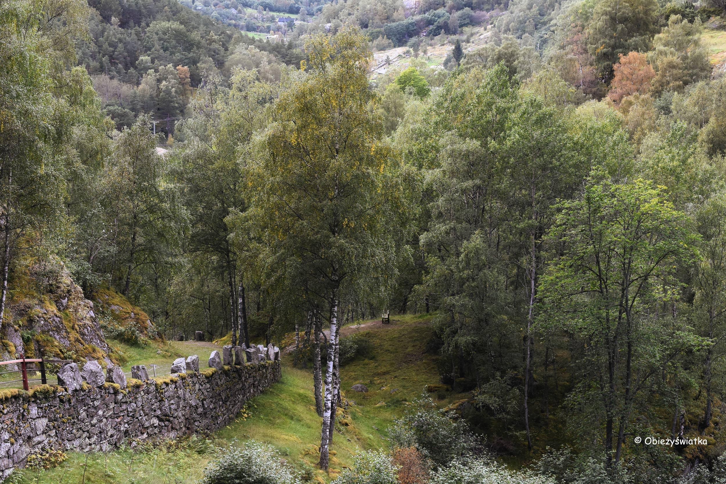 Vindhellavegen, Norwegia