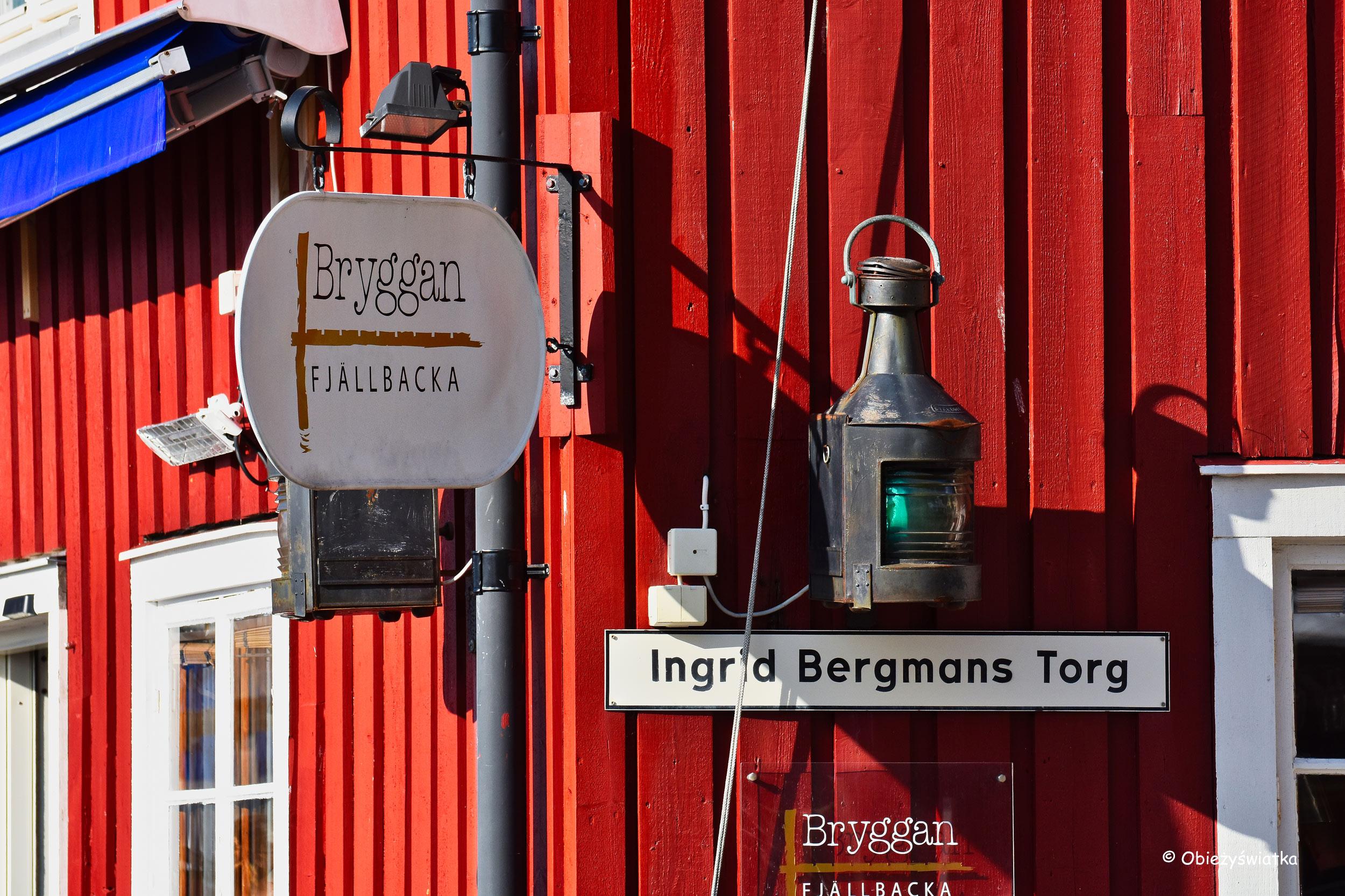 Fjällbacka - Plac Ingrid Bergman