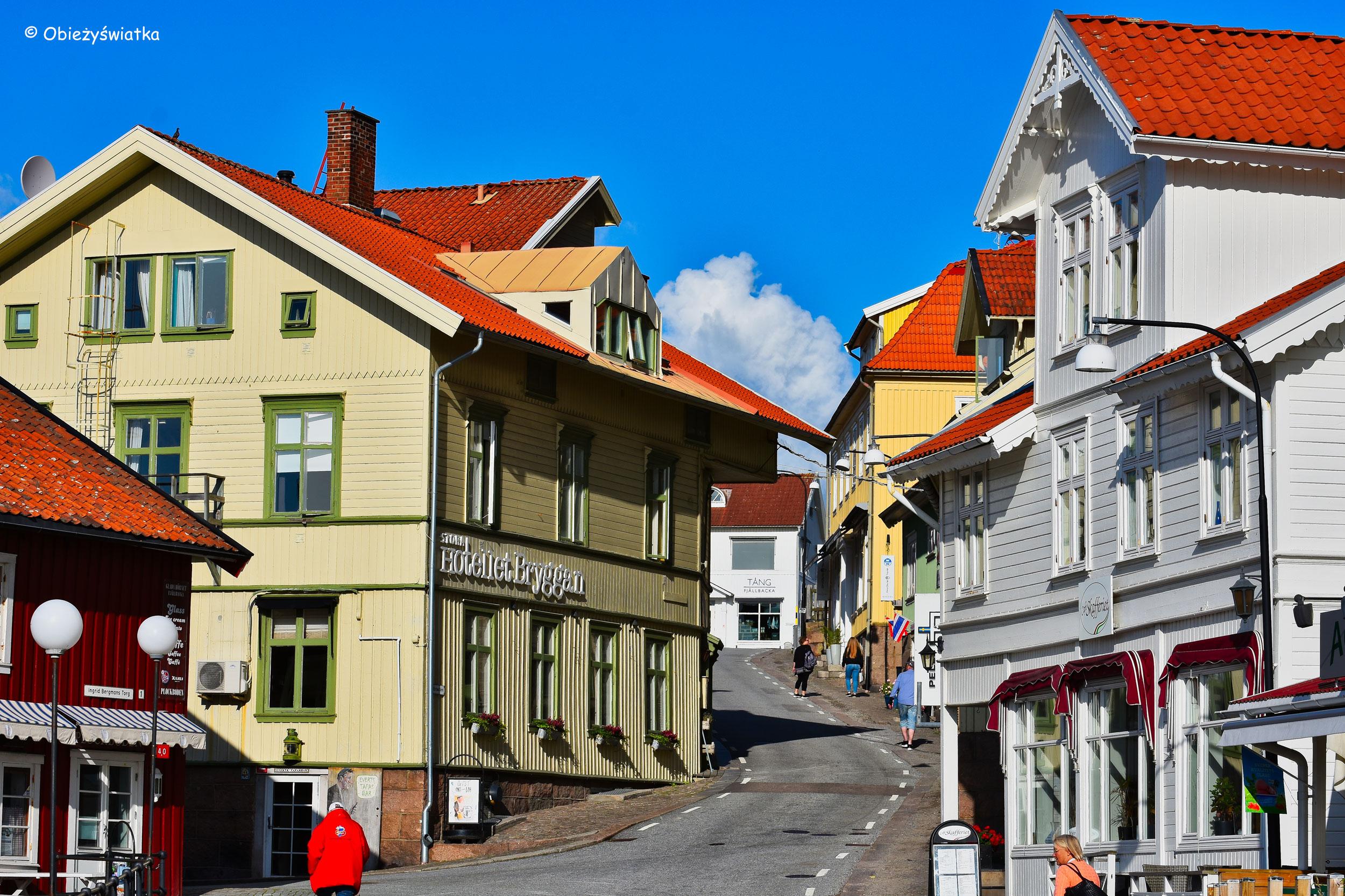 Fjällbacka - centrum osady