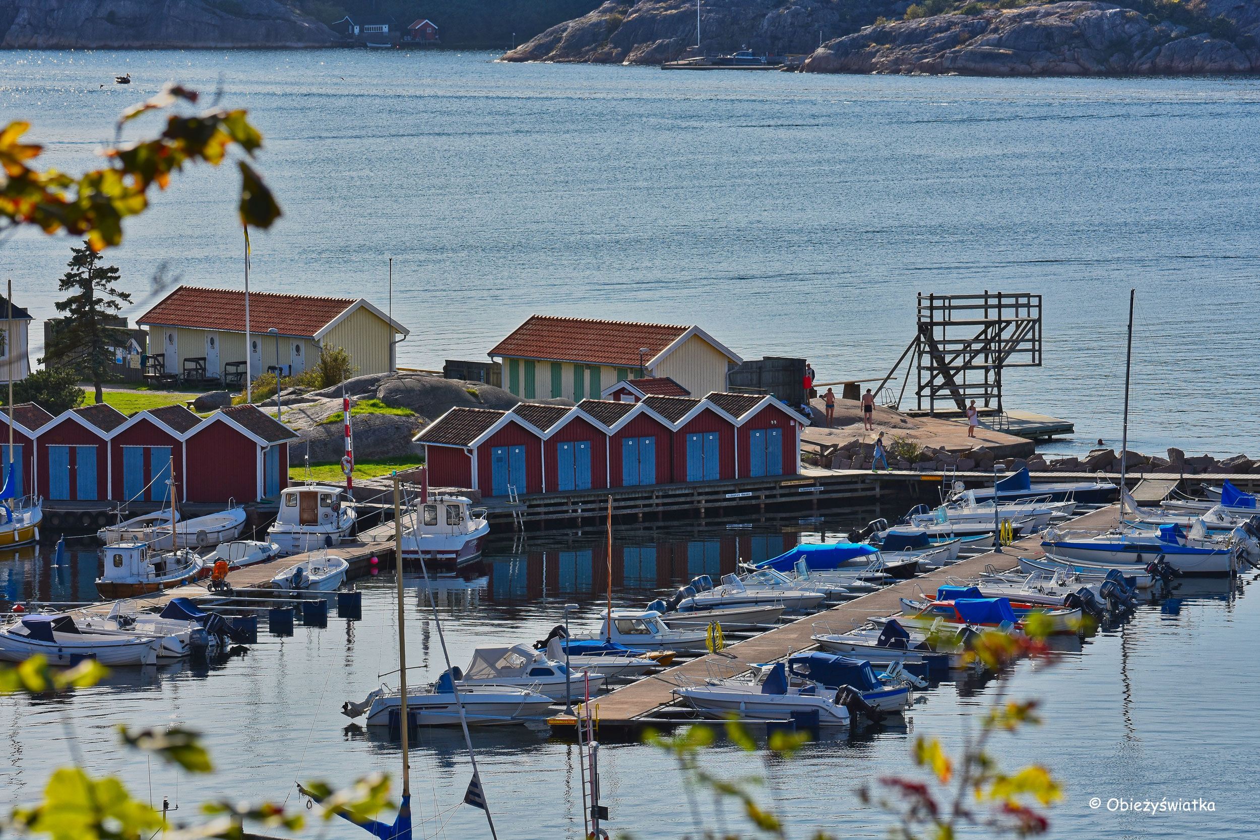 Obrazek nadmorski, Fjällbacka