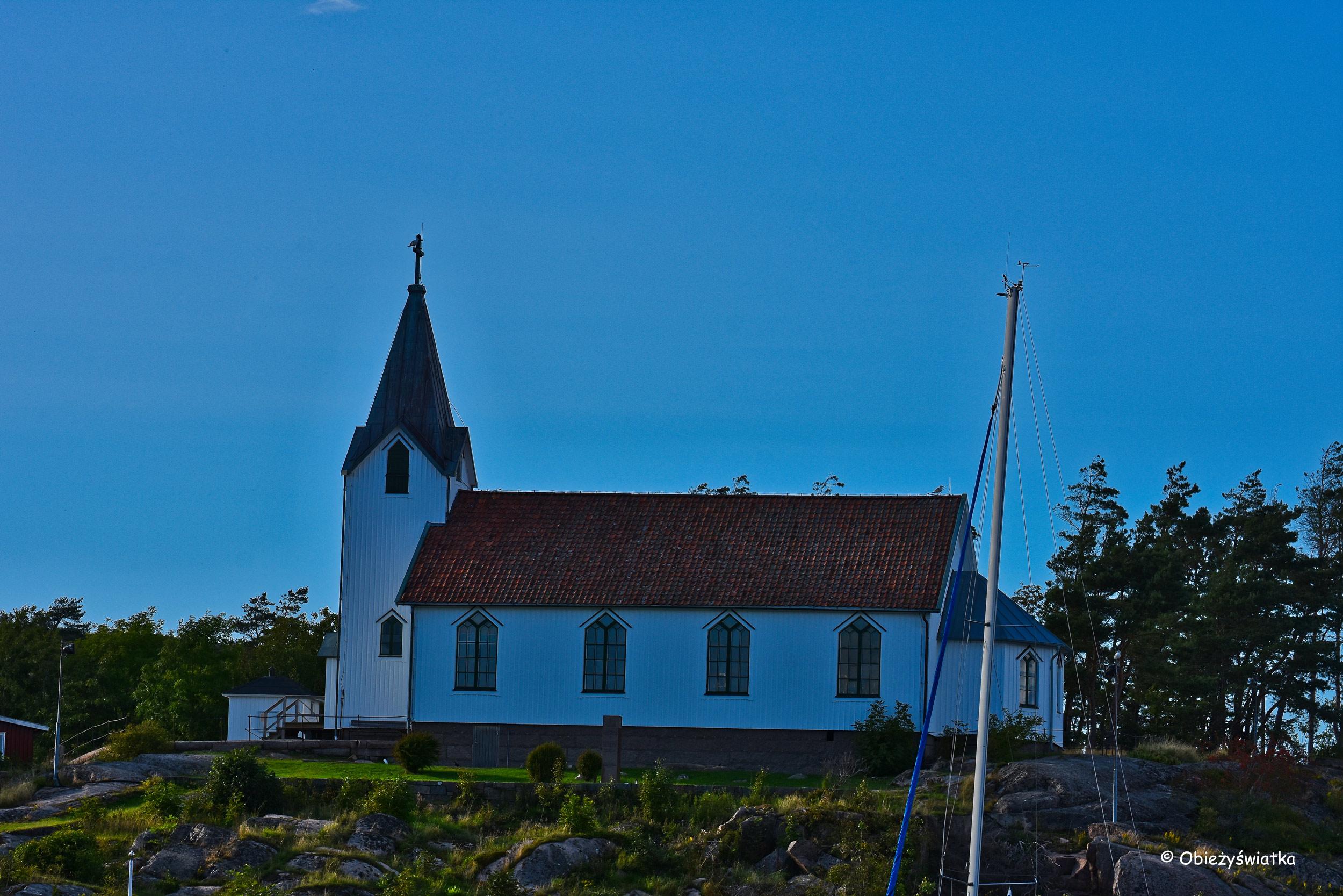 Kościółek na skale, Fjällbacka