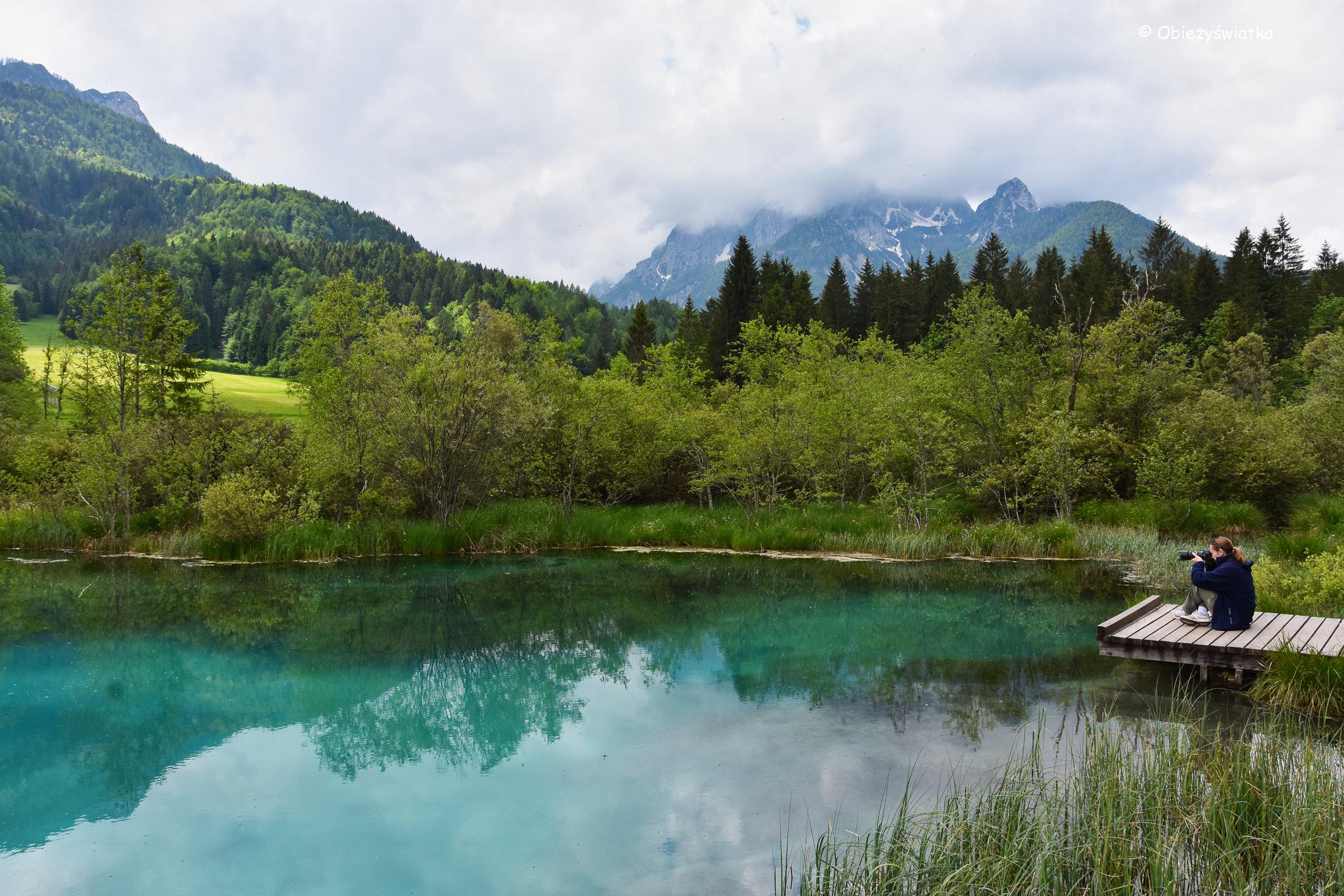 Jezioro Zelenci, Słowenia