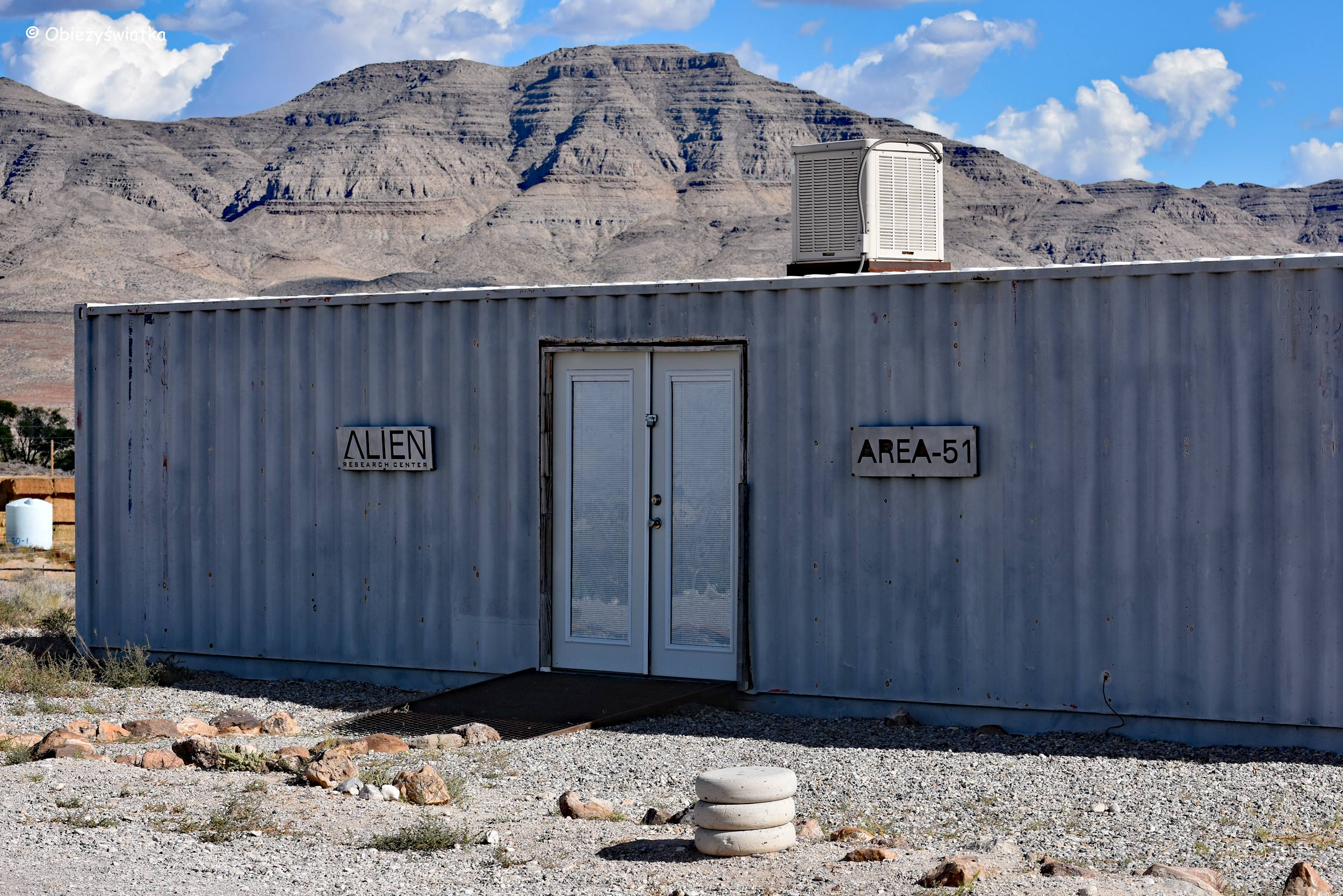 Area 51, kosmici i my ;), Nevada, USA
