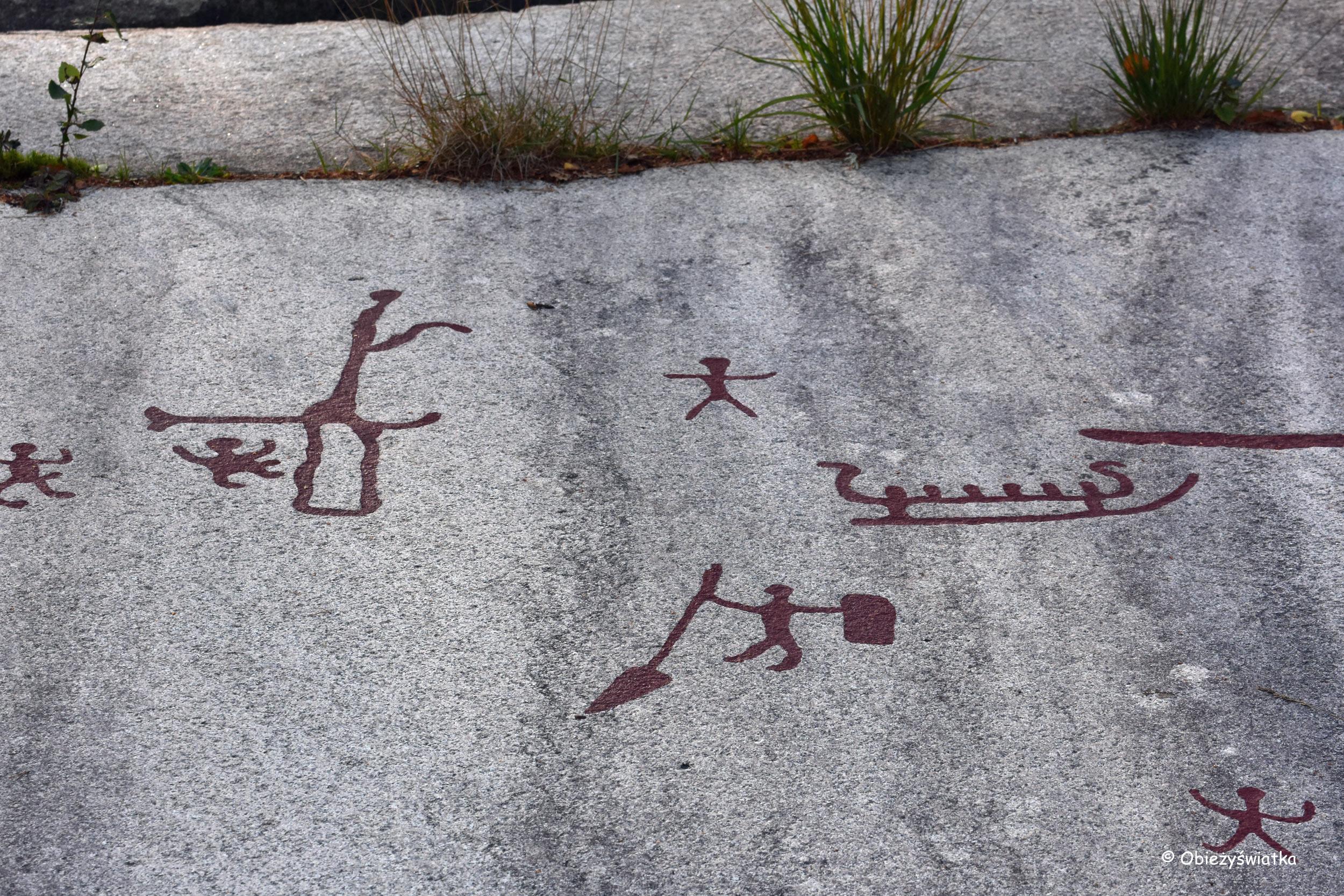 Prehistoryczne ryty w Tanumshede, Szwecja