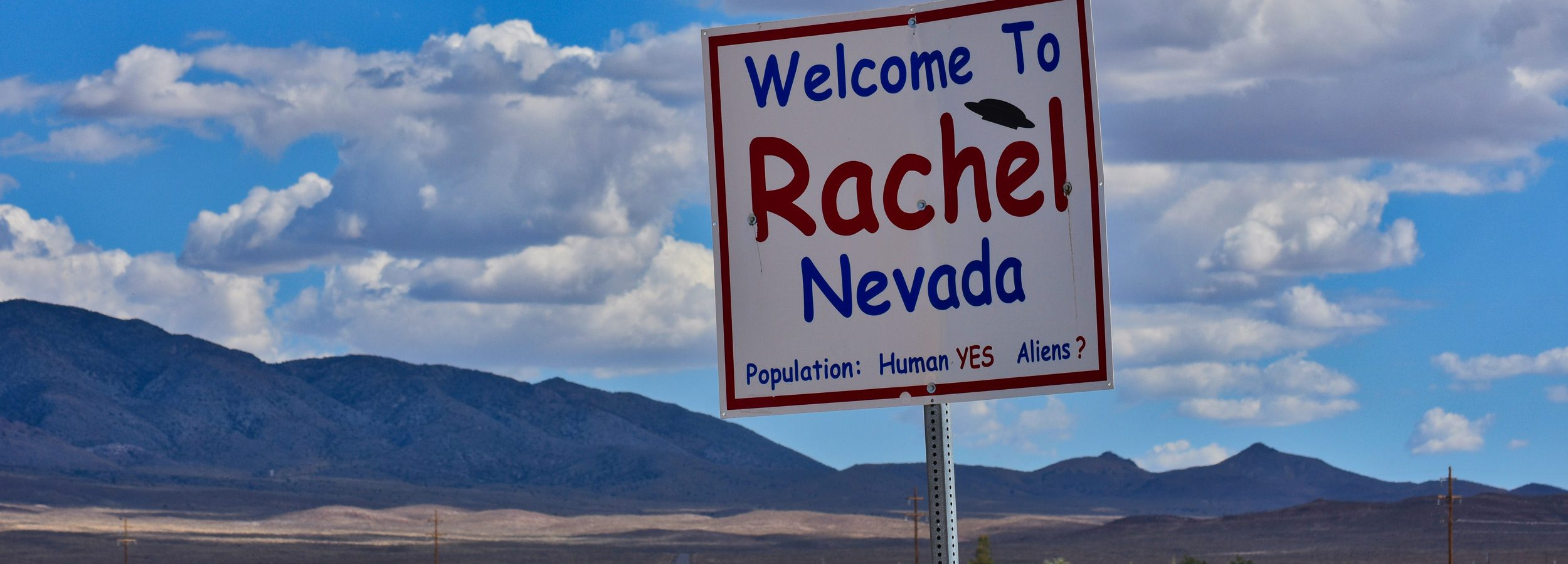 Welcome to Rachel, Nevada :)