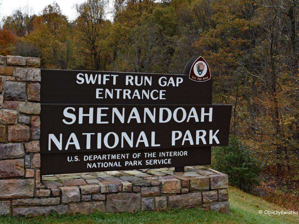Park Narodowy Shenandoah, USA