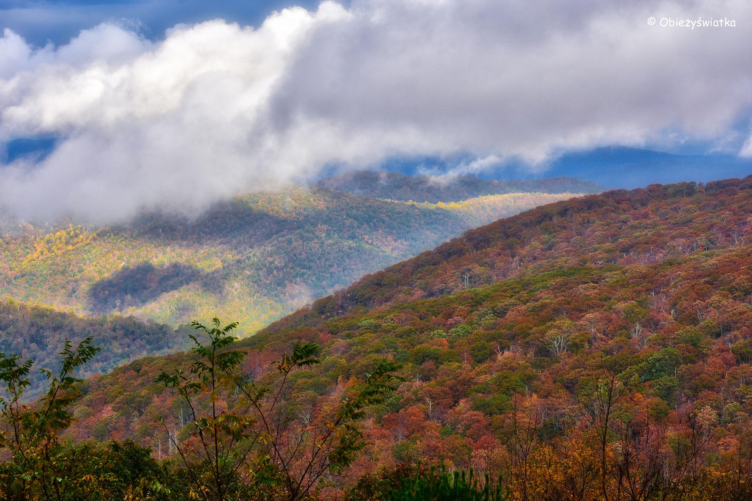 Park Narodowy Shenandoah, Virginia, USA