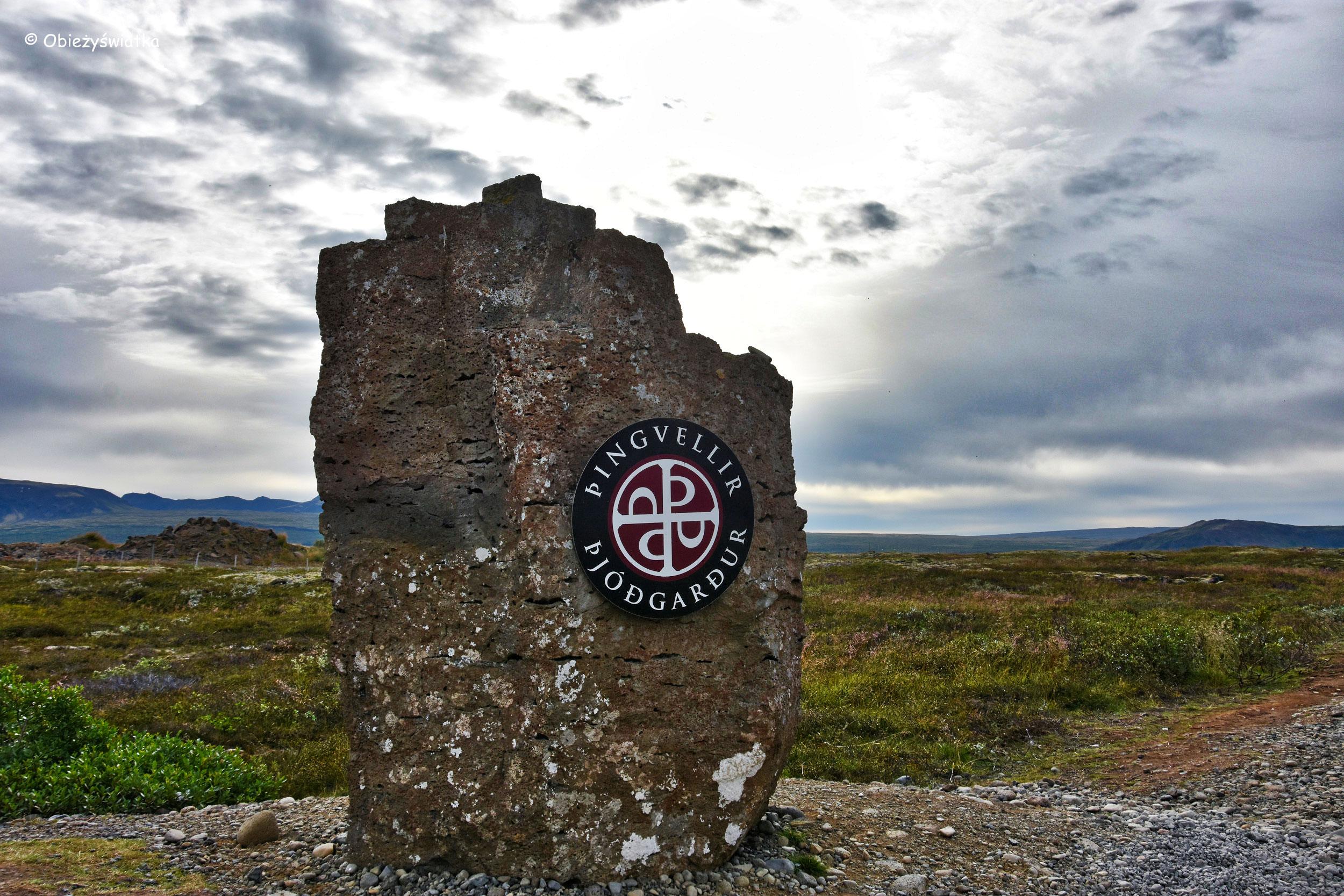 Þingvellir - islandzki park narodowy