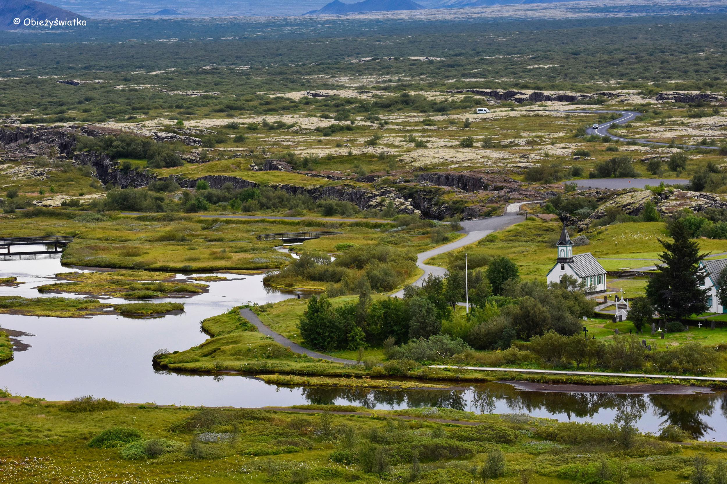Islandzki park narodowy - Þingvellir