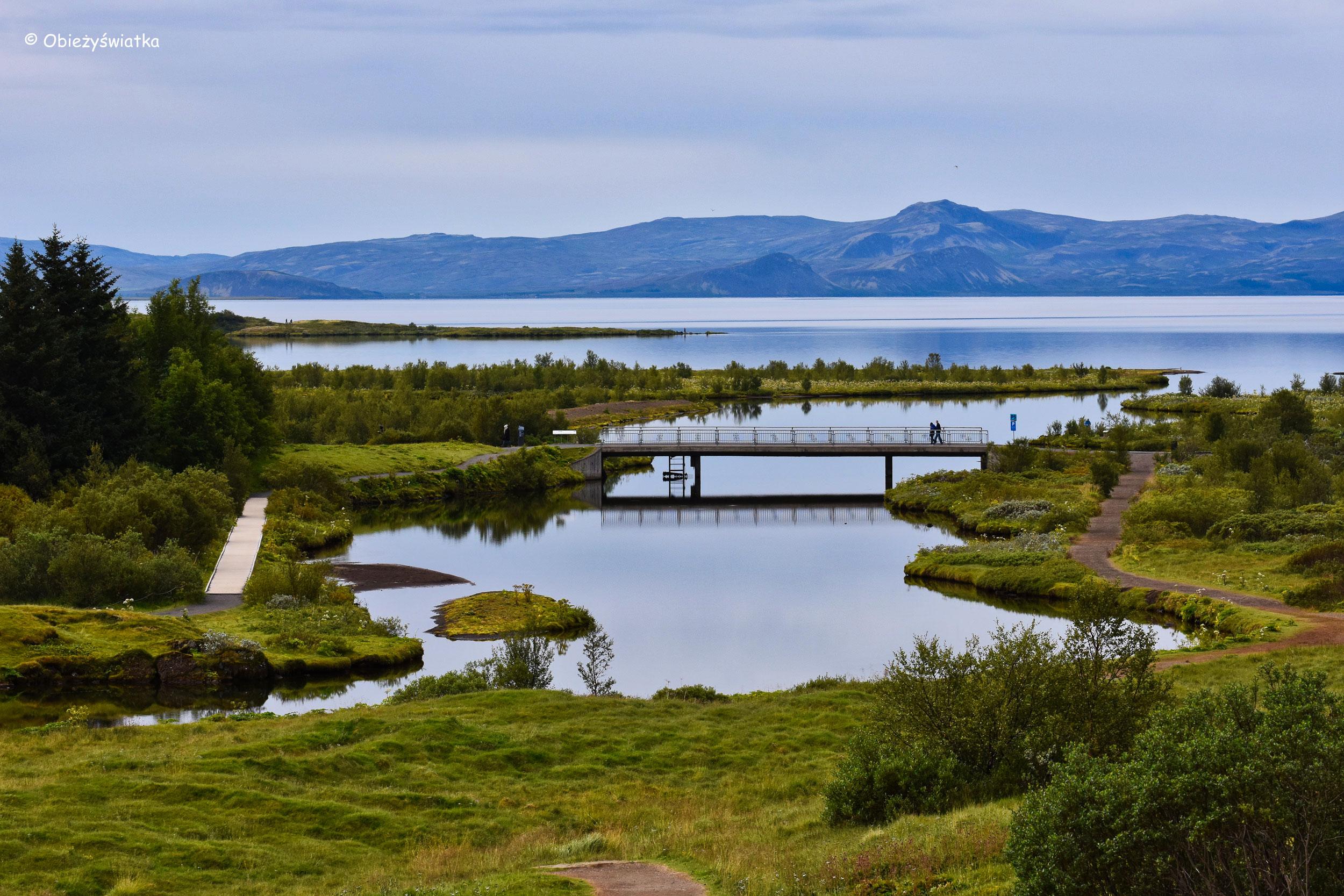Woda, woda, woda - Þingvellir, Islandia