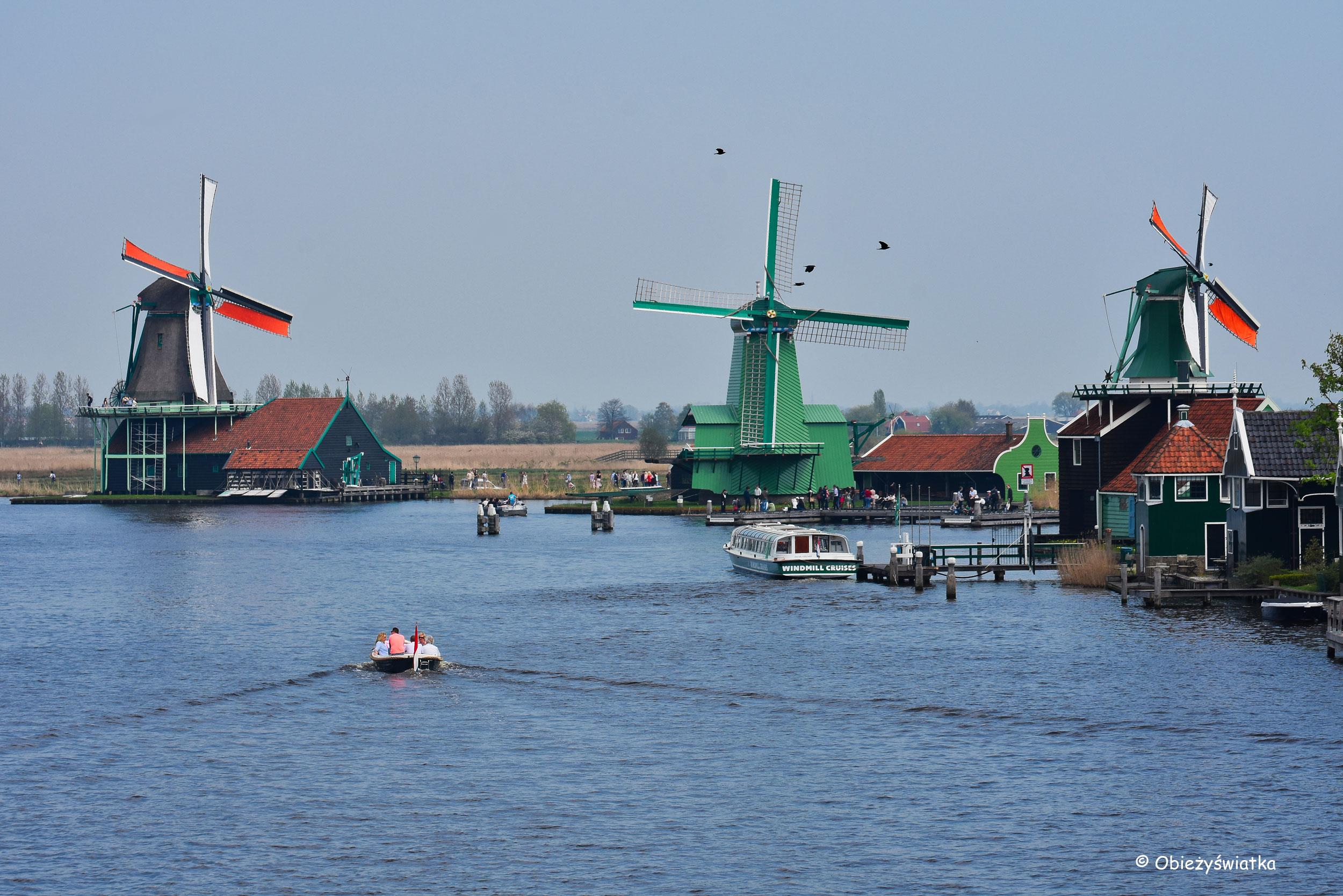 W Zaanse Schans, Holandia