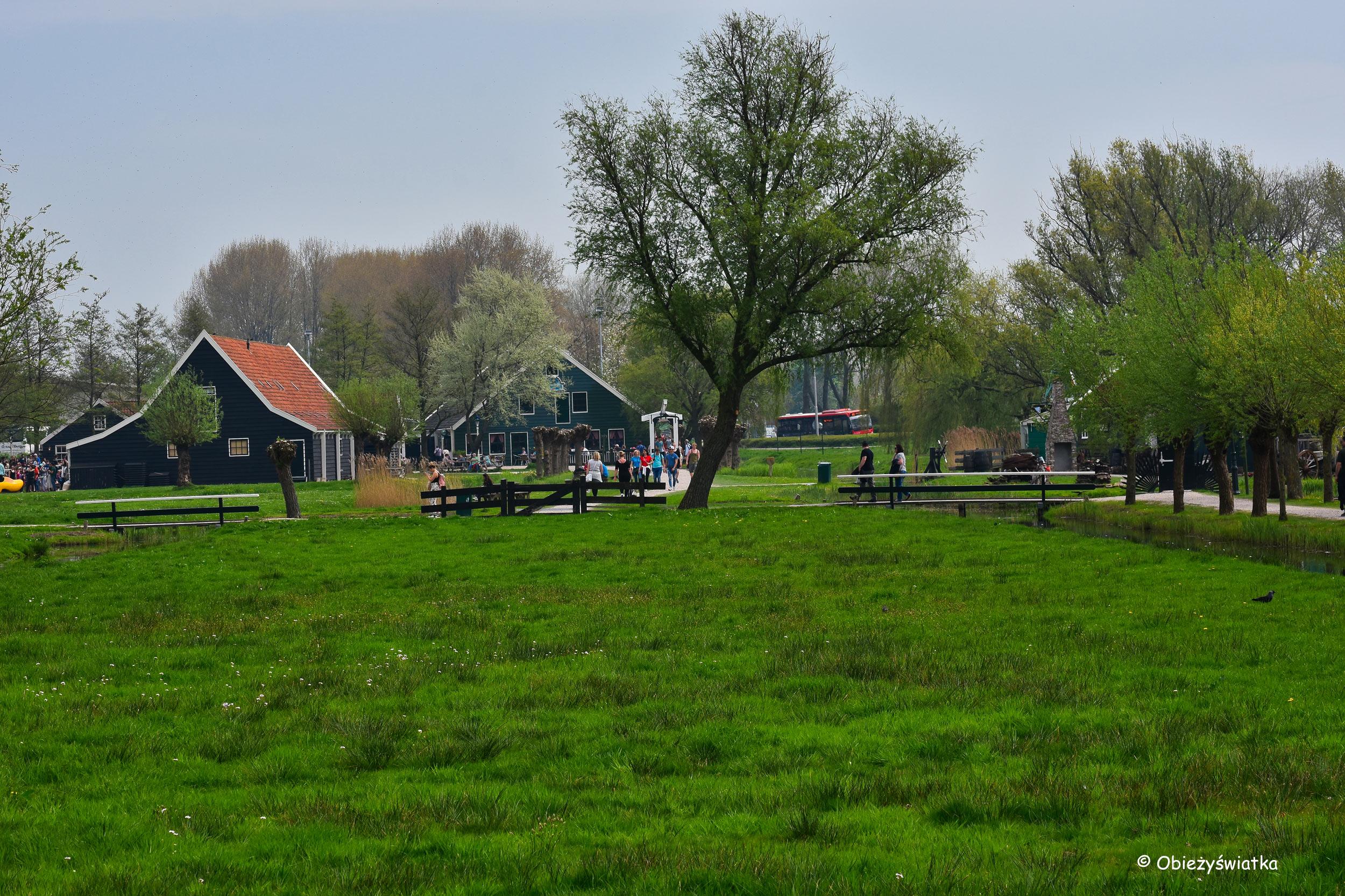 Zabytkowa wioska Zaanse Schans, Holandia
