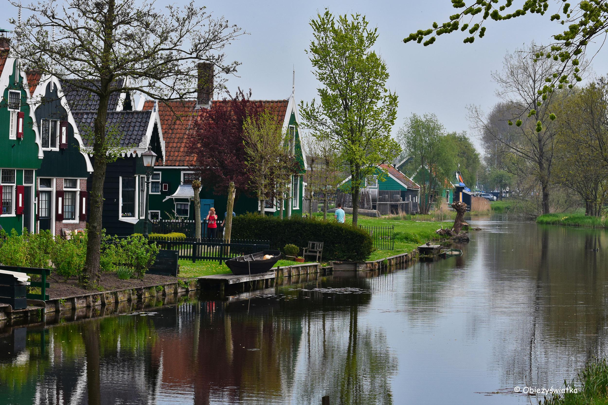 Skansen Zaanse Schans, Holandia