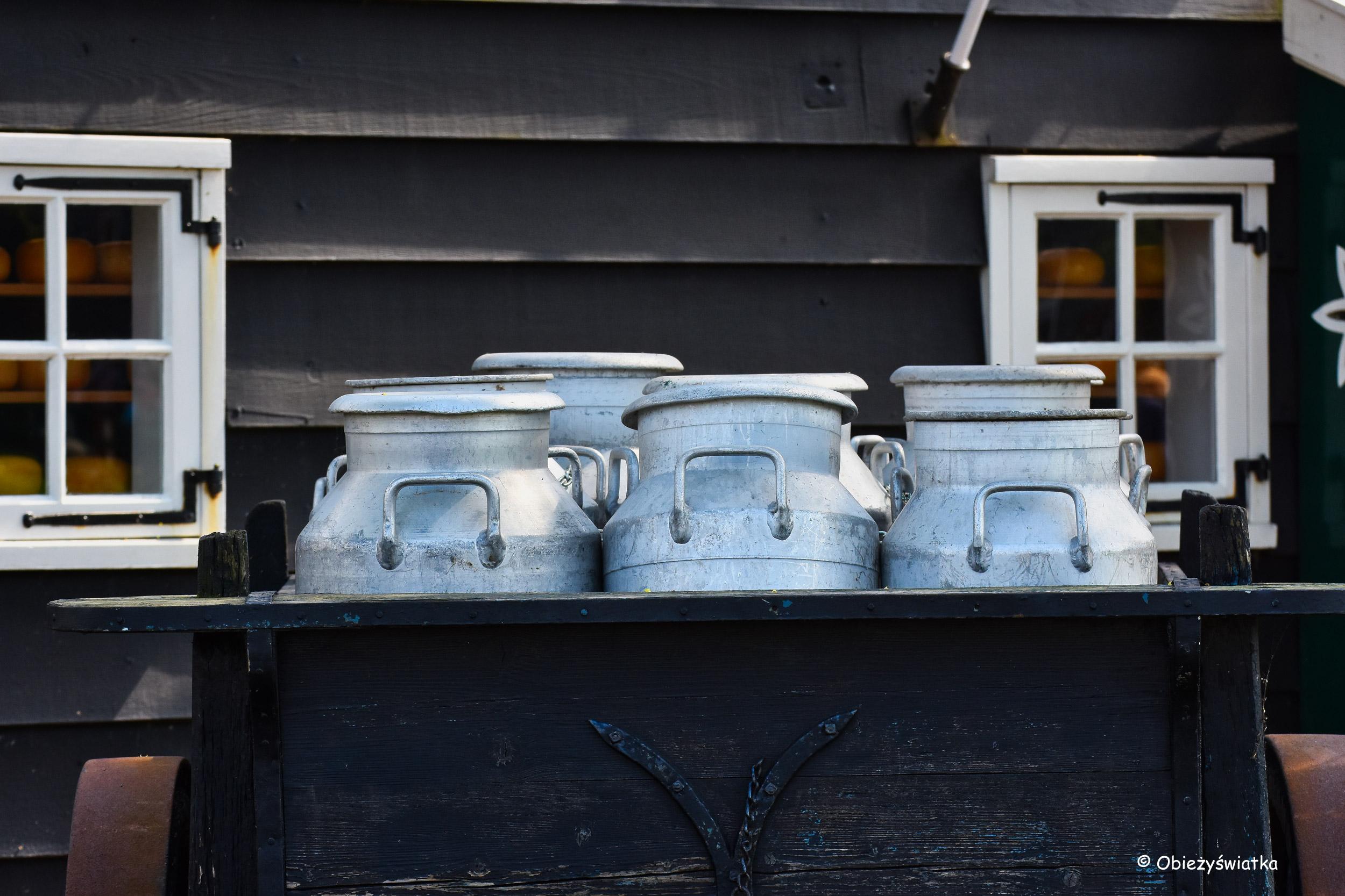 Kanki na mleko, Zaanse Schans, Holandia