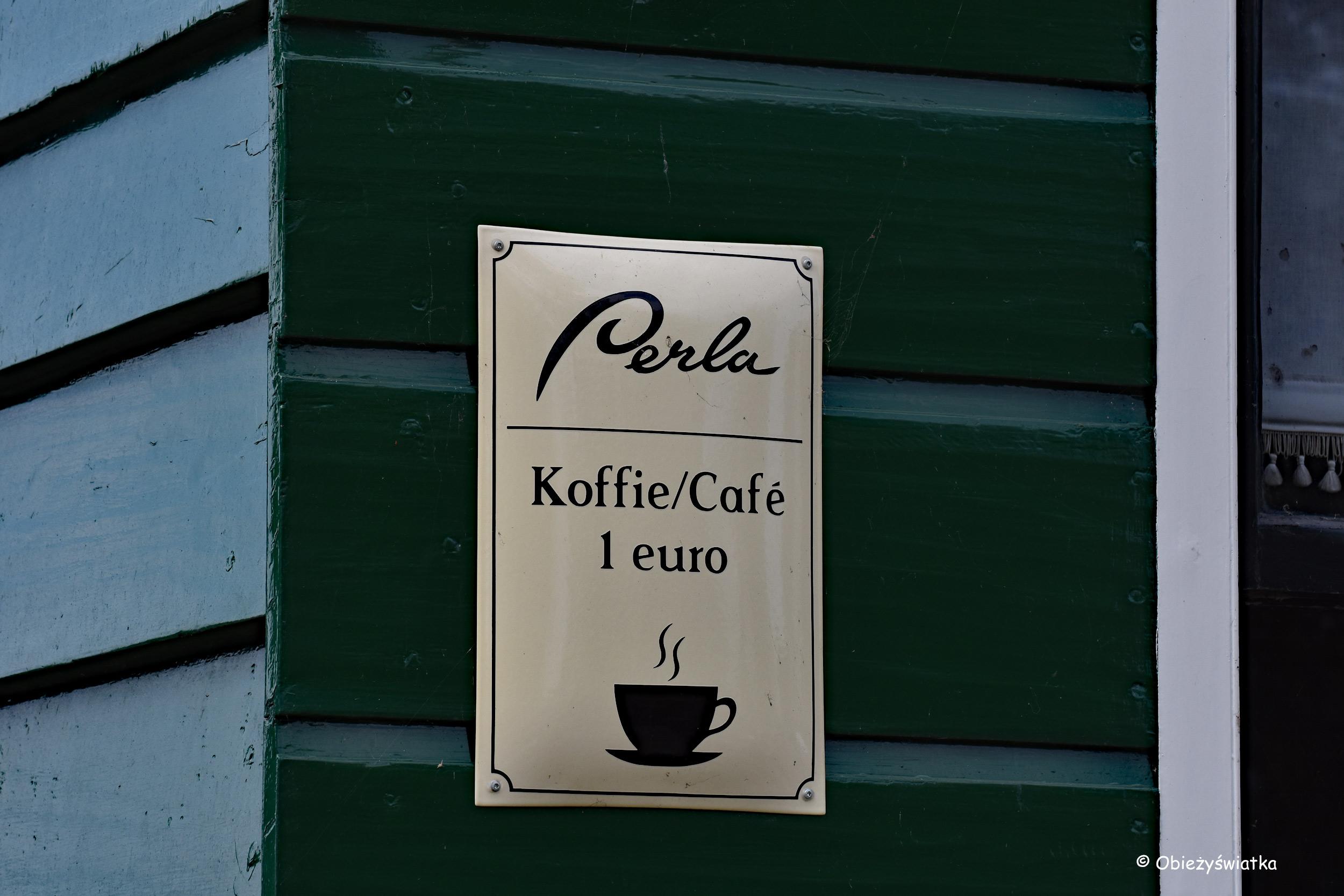 Kawa w Zaanse Schans :)