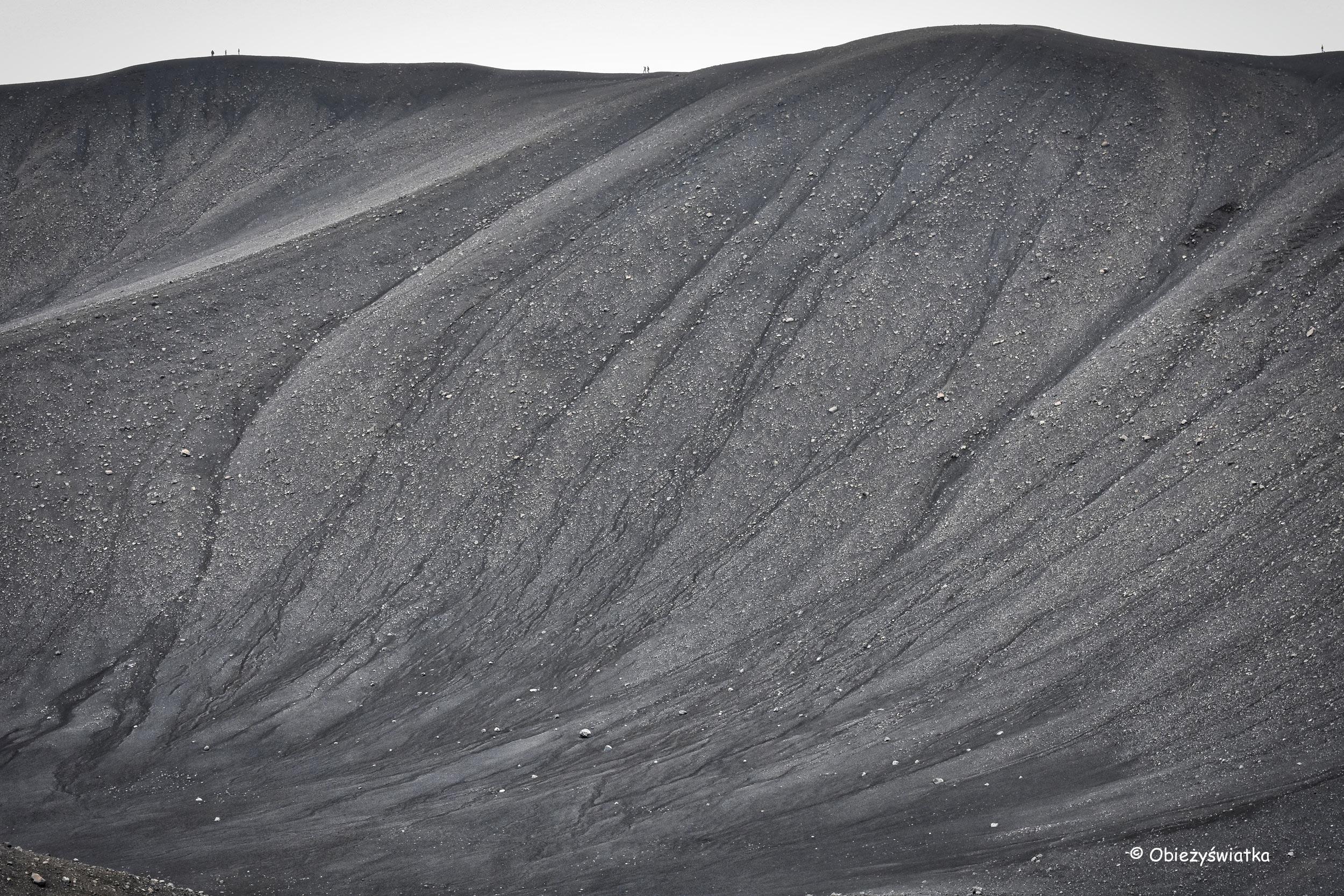 Minimalistycznie - wulkan Hverfjall, Islandia