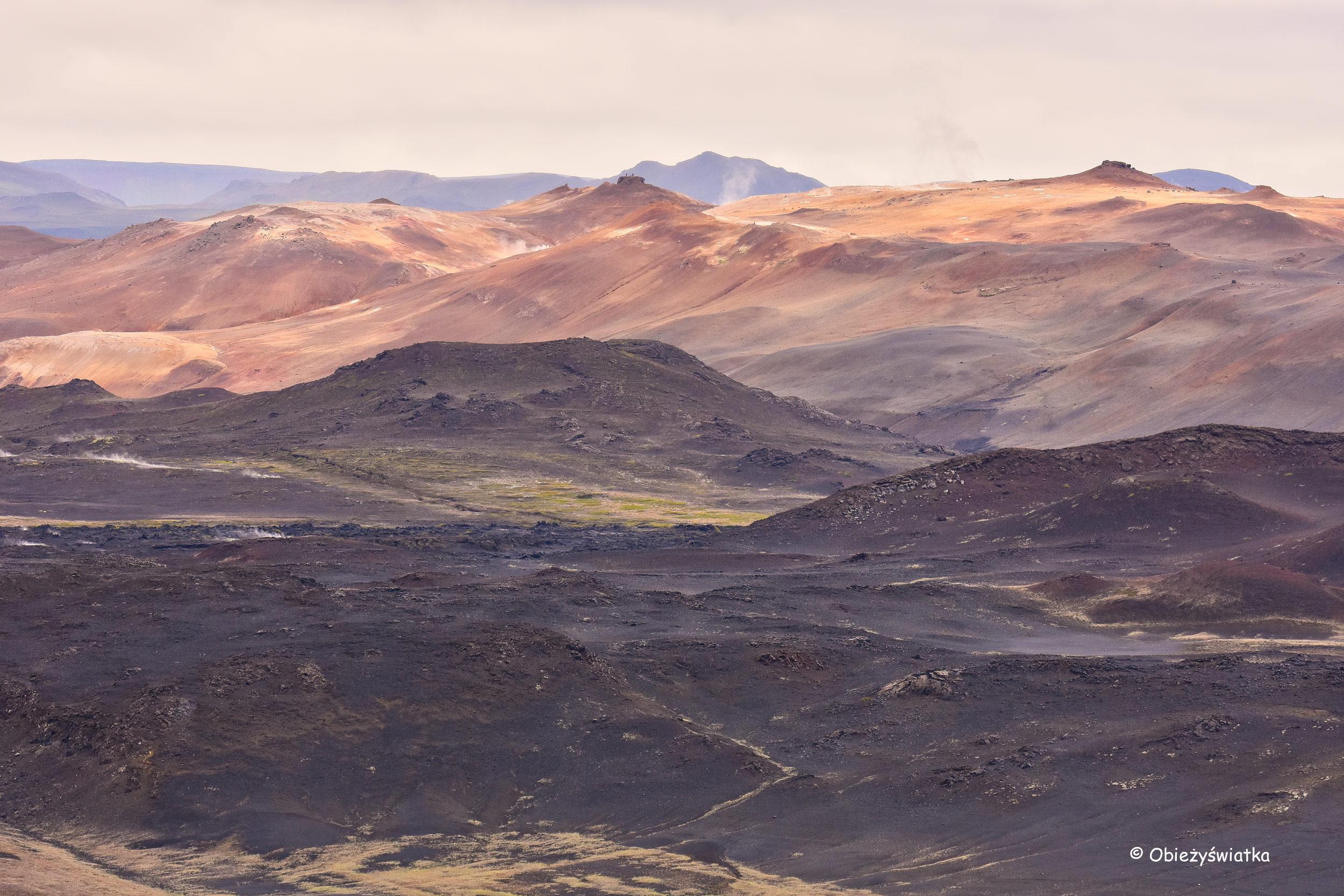 Kolory Islandii