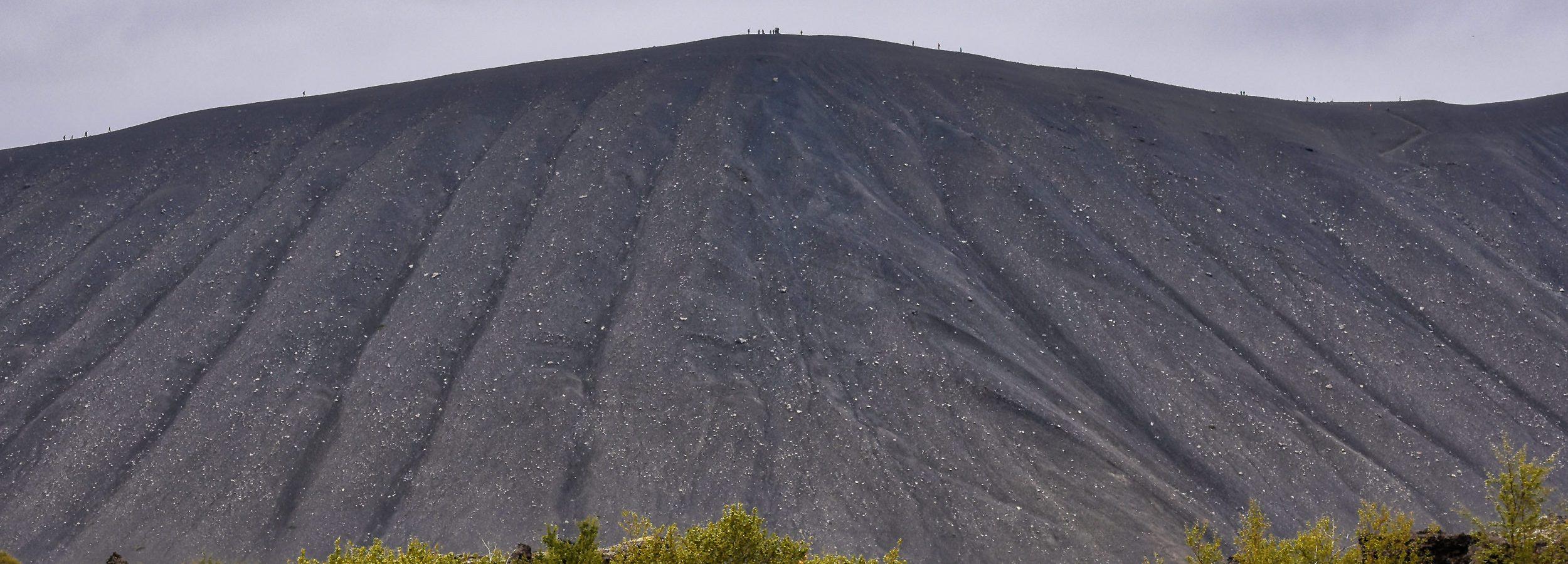 Wygasły wulkan Hverfjall, Islandia